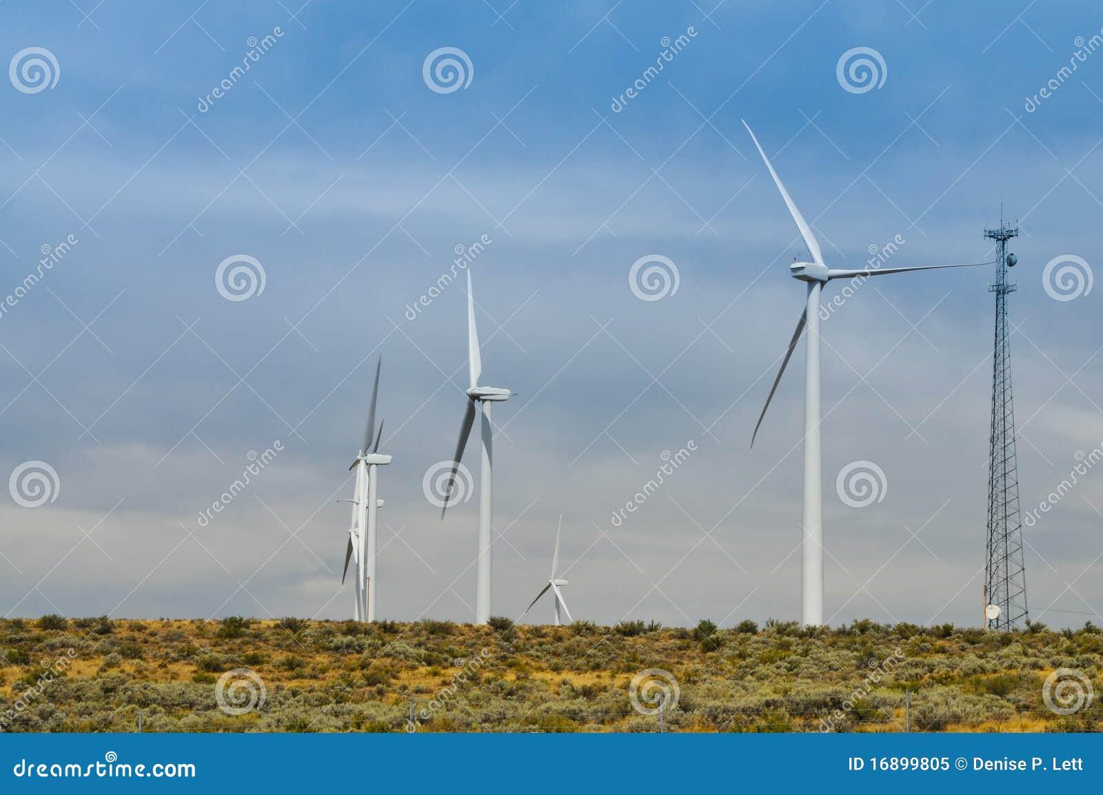 Alternatywnej energii turbina wiatr