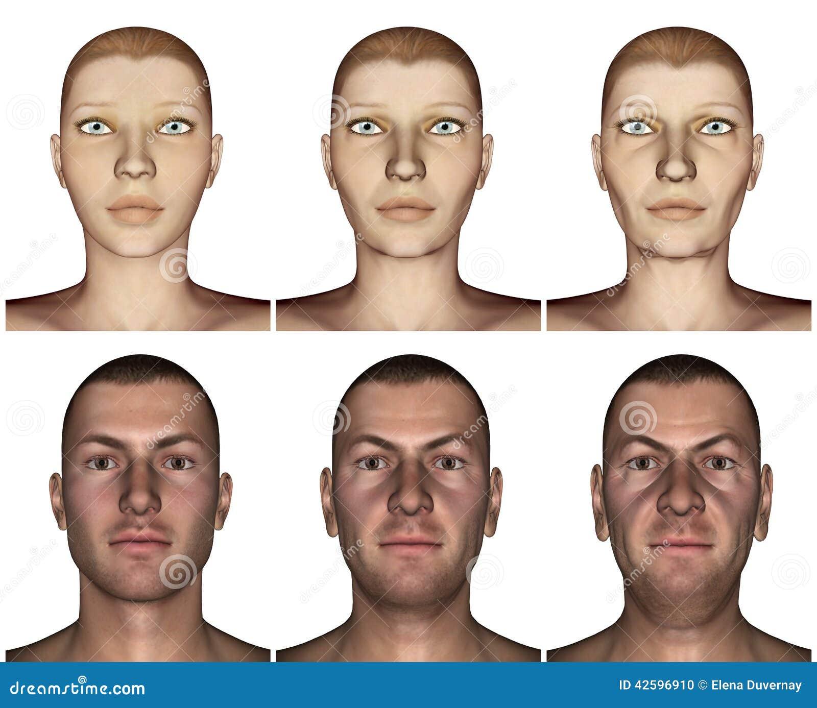 Die guten Masken für die Person mit der Hyaluronsäure
