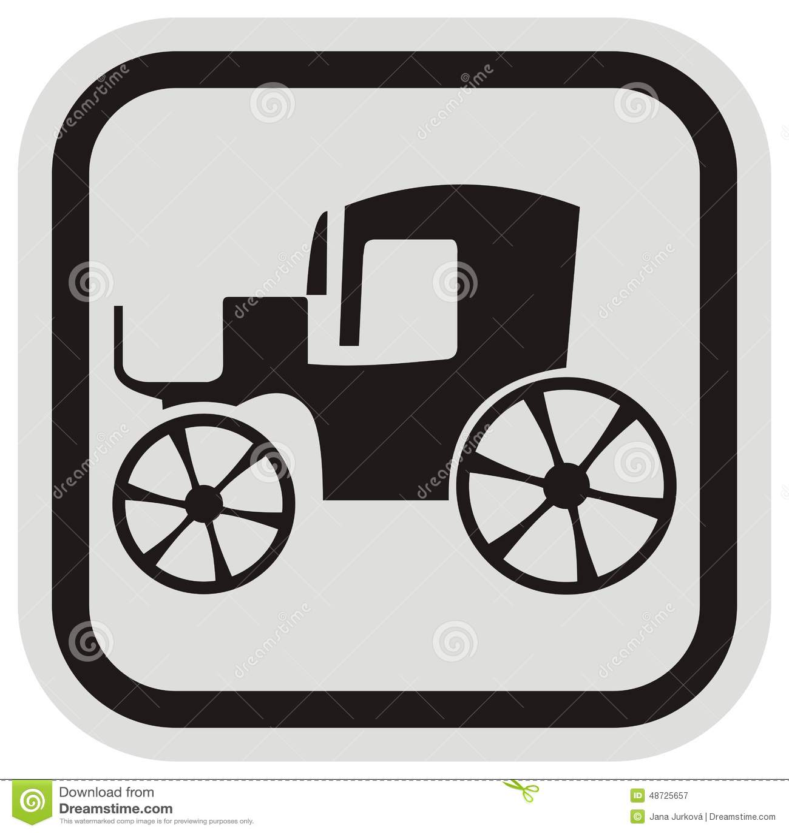 Altes Auto, Rahmen vektor abbildung. Illustration von ikone - 48725657
