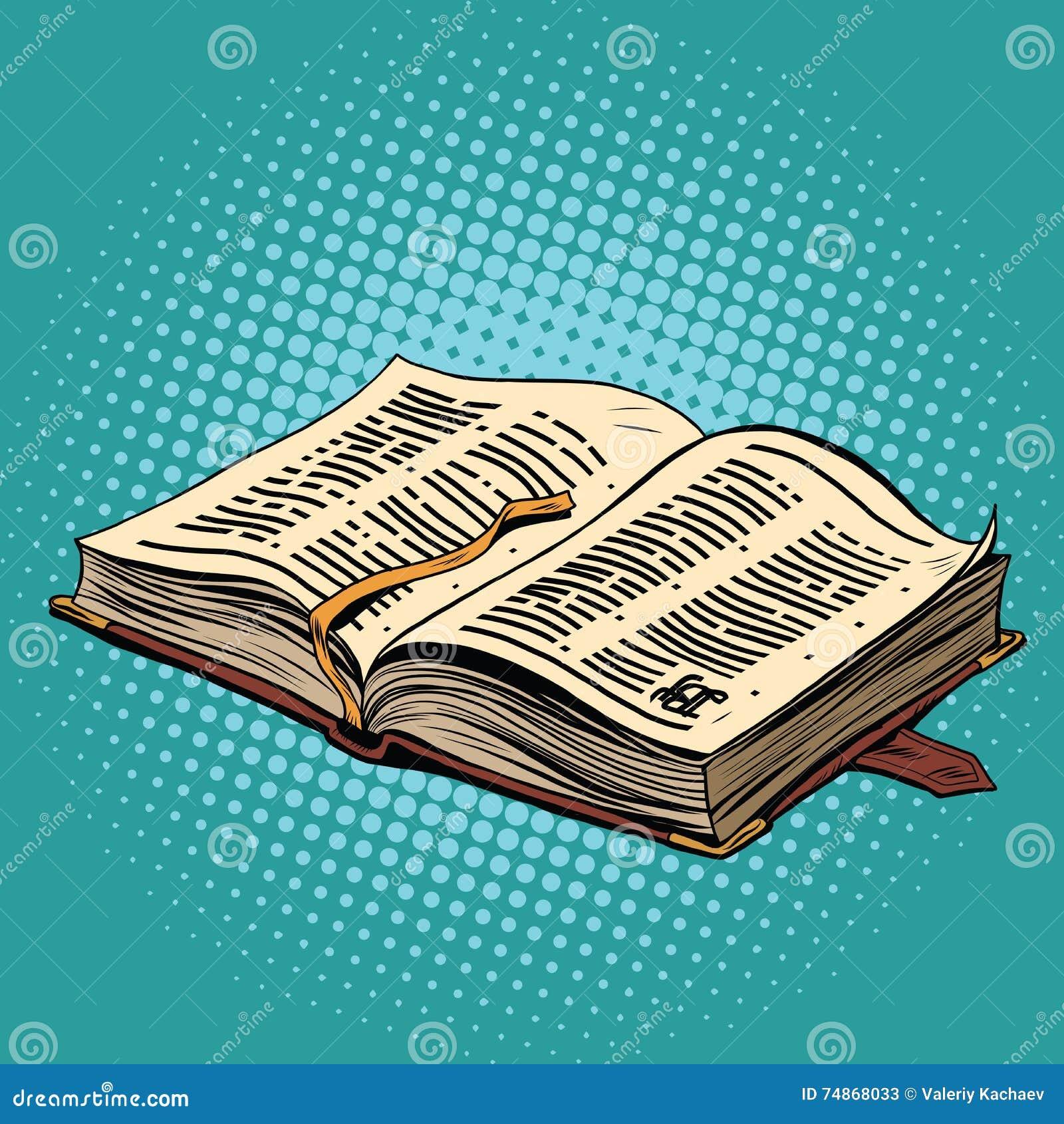 Altes Buch im Ledereinband Die Bibel und die Religion
