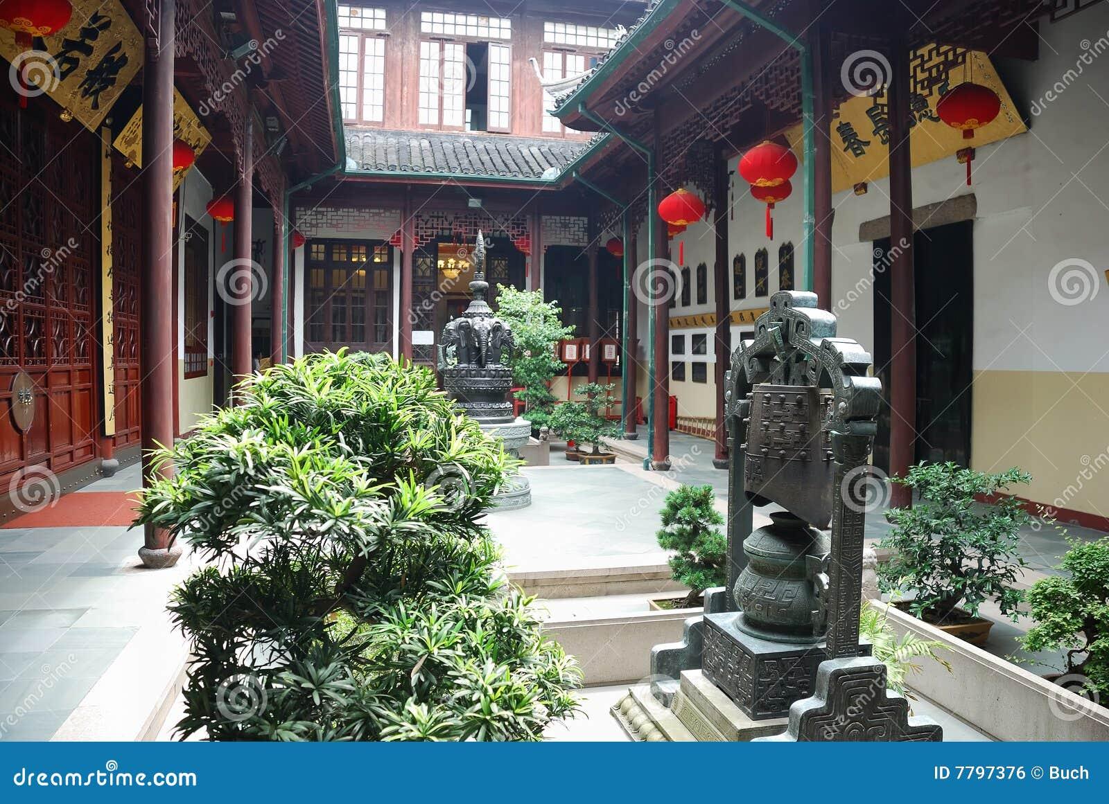 Altes chinesisches haus lizenzfreies stockbild bild 7797376 for Traditionelles chinesisches haus