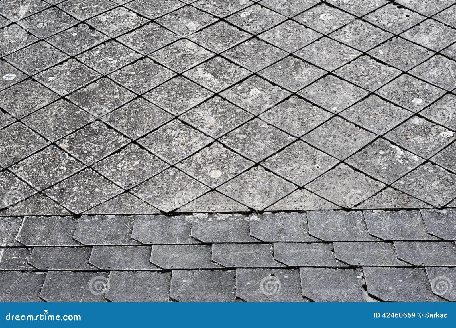 Altes Dachdetail