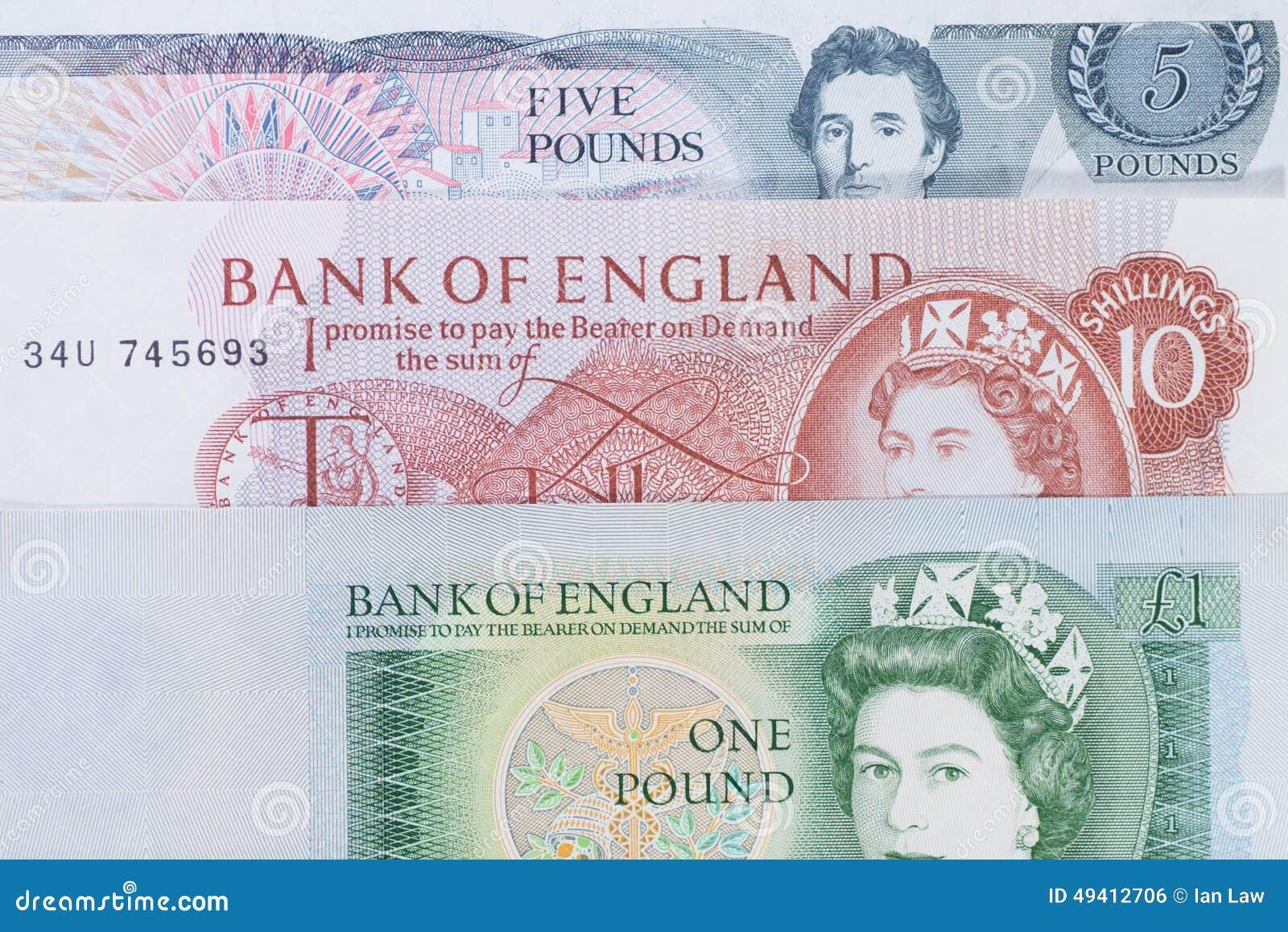 Download Altes Englisch Sterling stockfoto. Bild von großbritannien - 49412706
