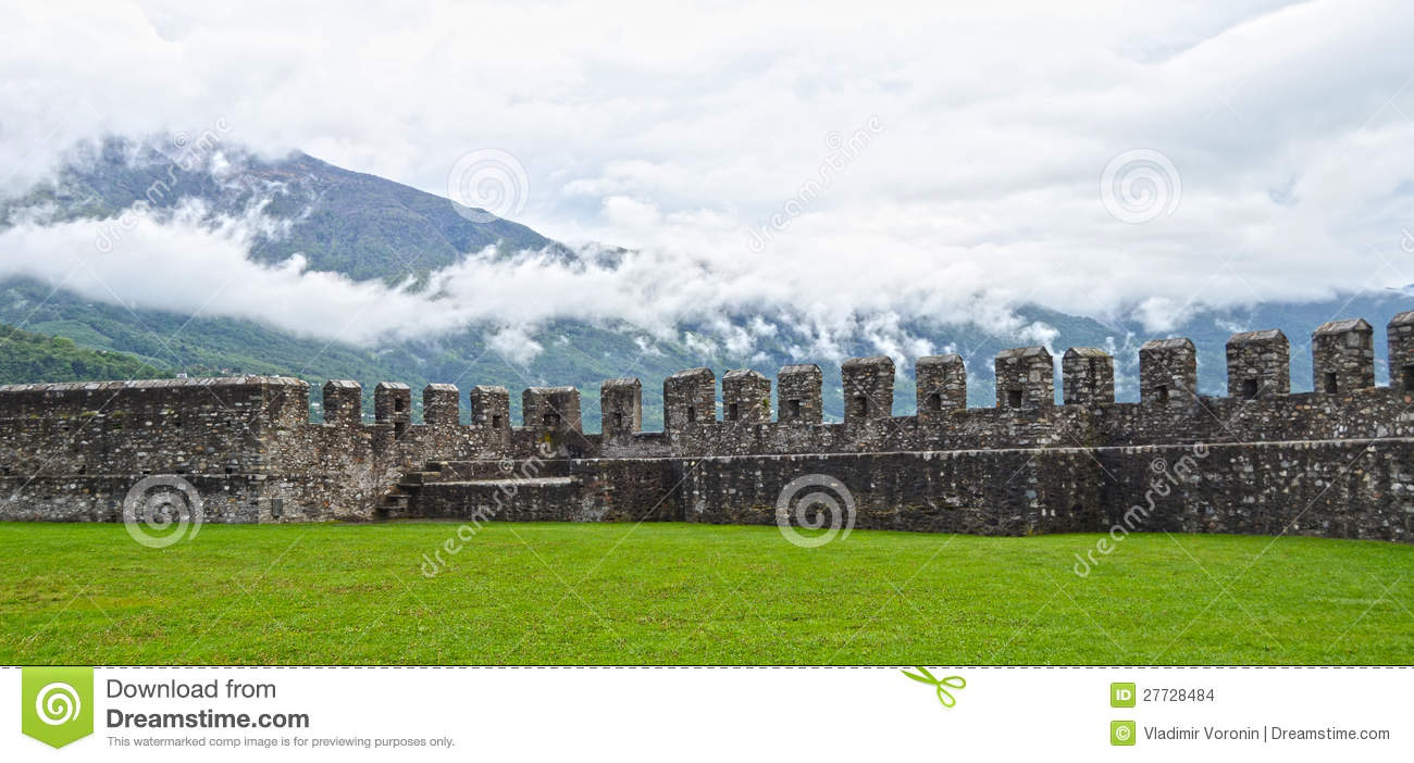 Altes Fort in Bellinzona