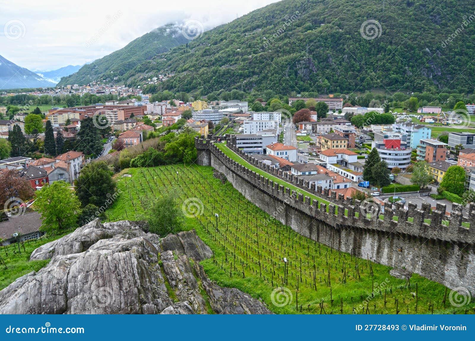 Altes Fort in Bellinzona