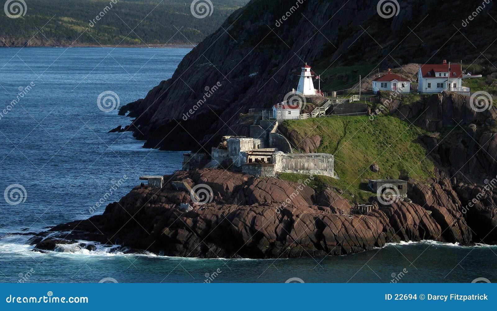 Altes Fort mit Leuchtturm