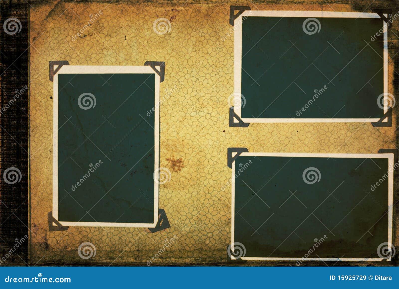 altes fotoalbum lizenzfreie stockbilder bild 15925729. Black Bedroom Furniture Sets. Home Design Ideas