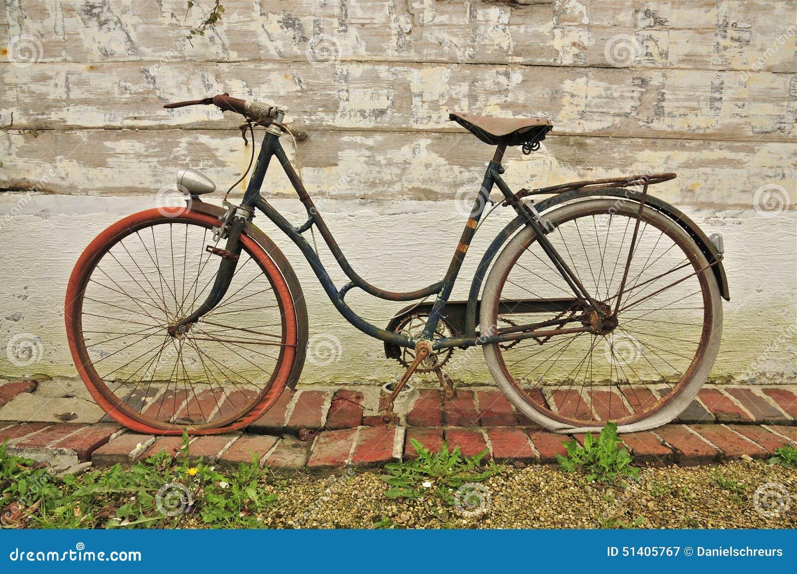 Nordfranz Sisches Becken altes franz 246 sisches fahrrad stockbild bild 51405767