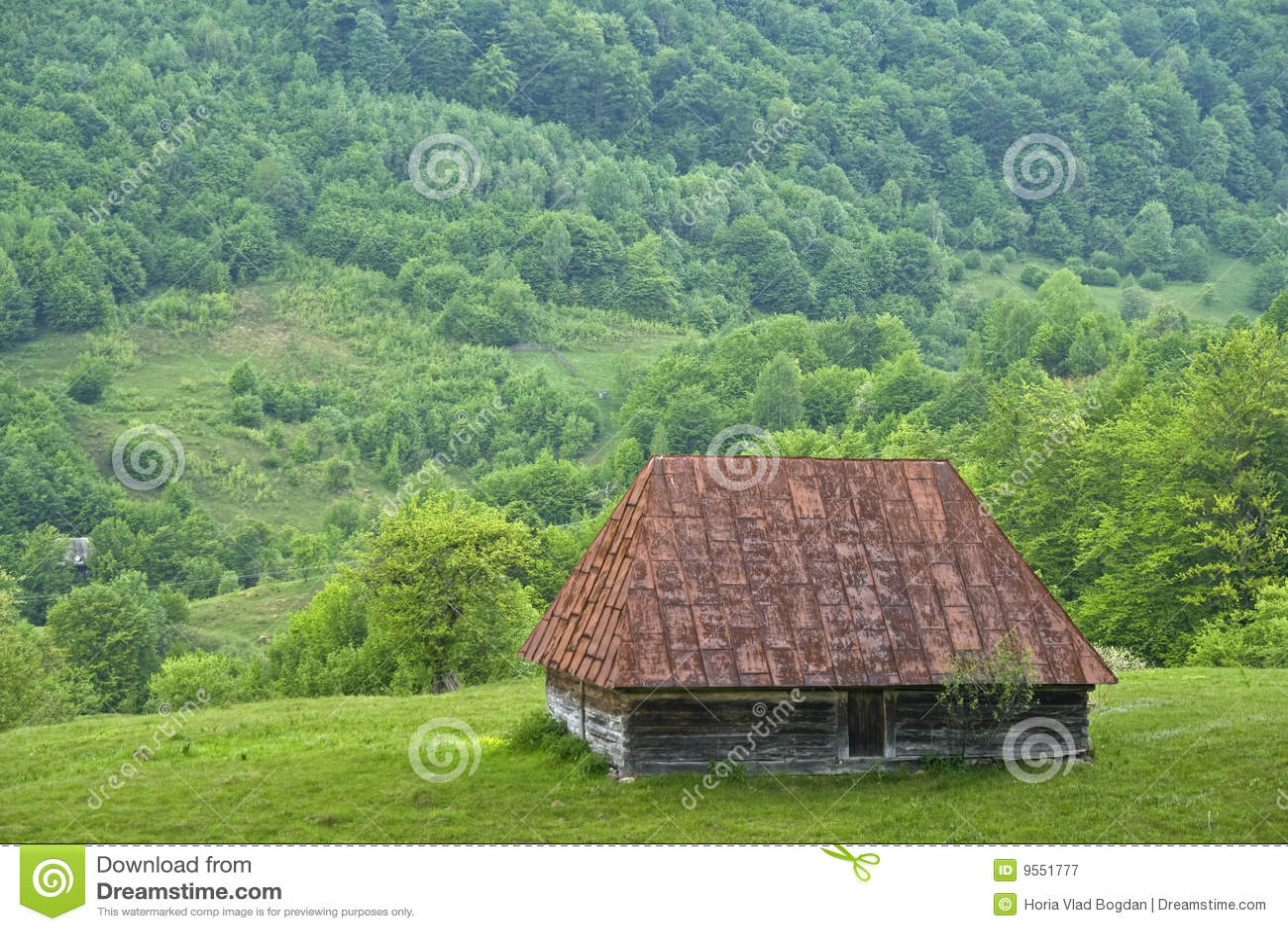 Altes Gebirgslandschafthaus - Rumänien