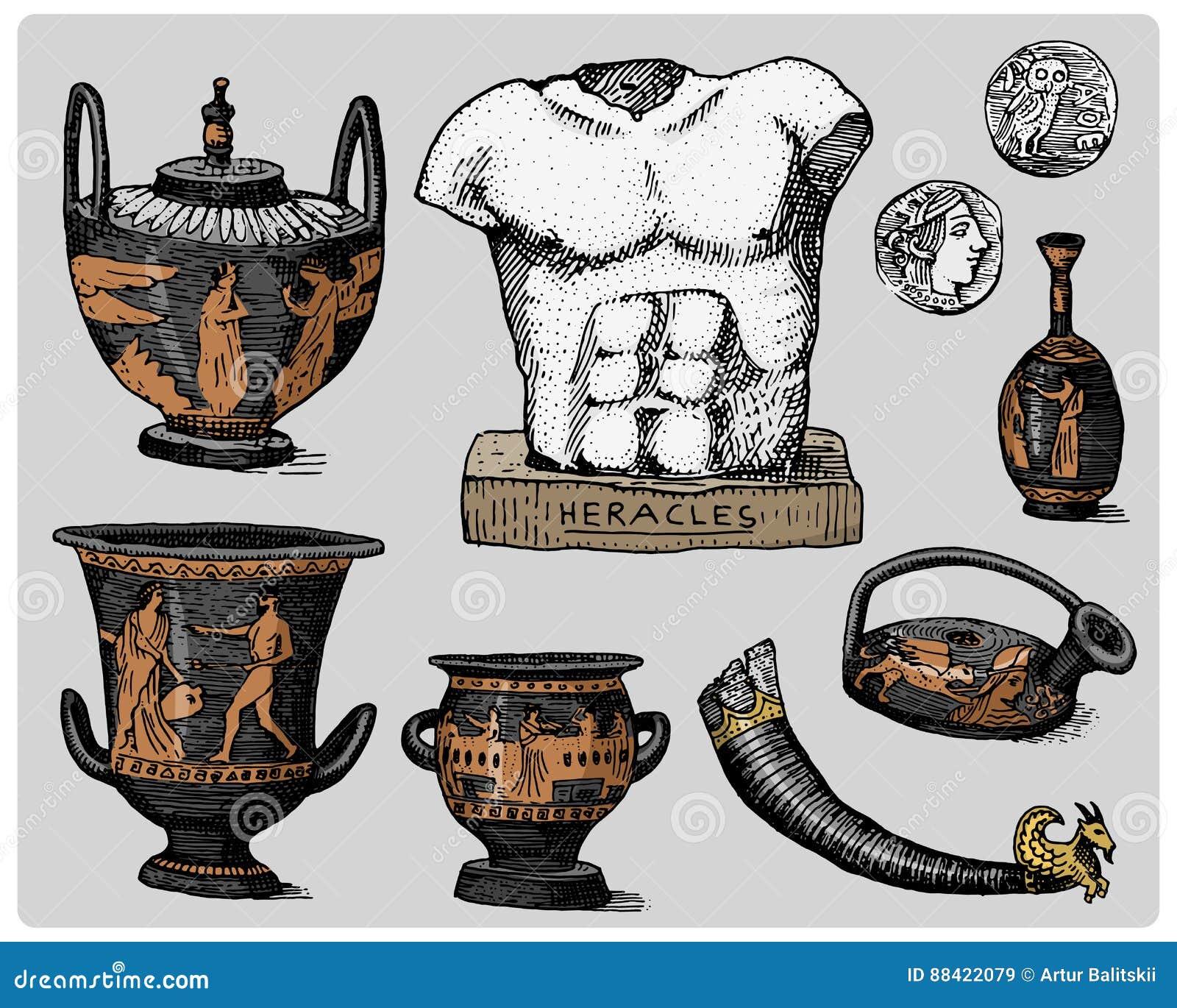 Antike Griechische Symbole