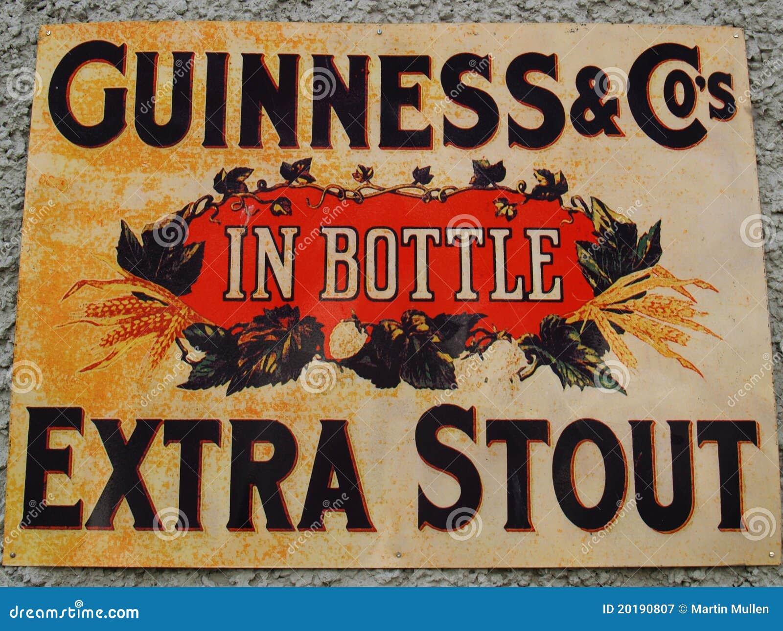 Altes Guinness-Zeichen