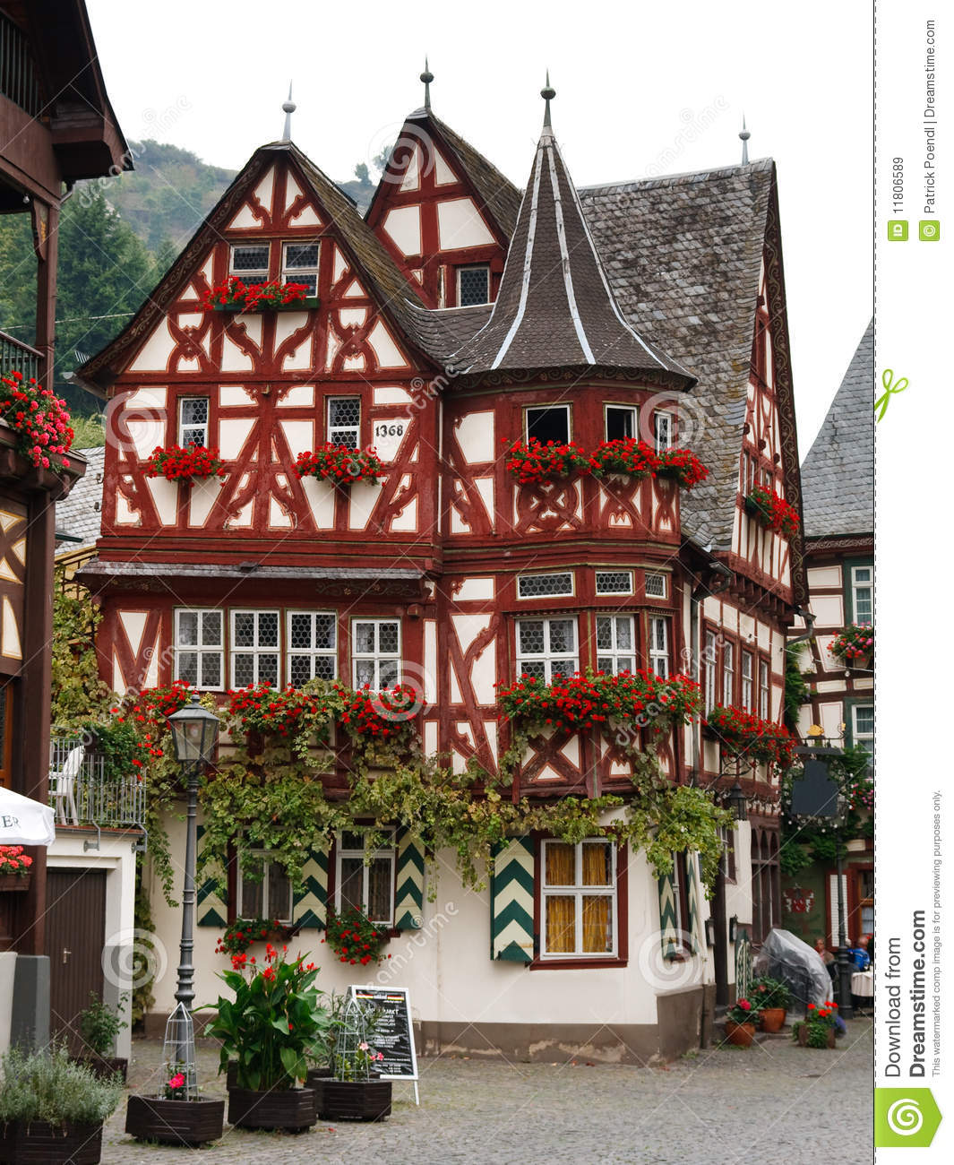 altes haus altes haus in bacharach deutschland. Black Bedroom Furniture Sets. Home Design Ideas