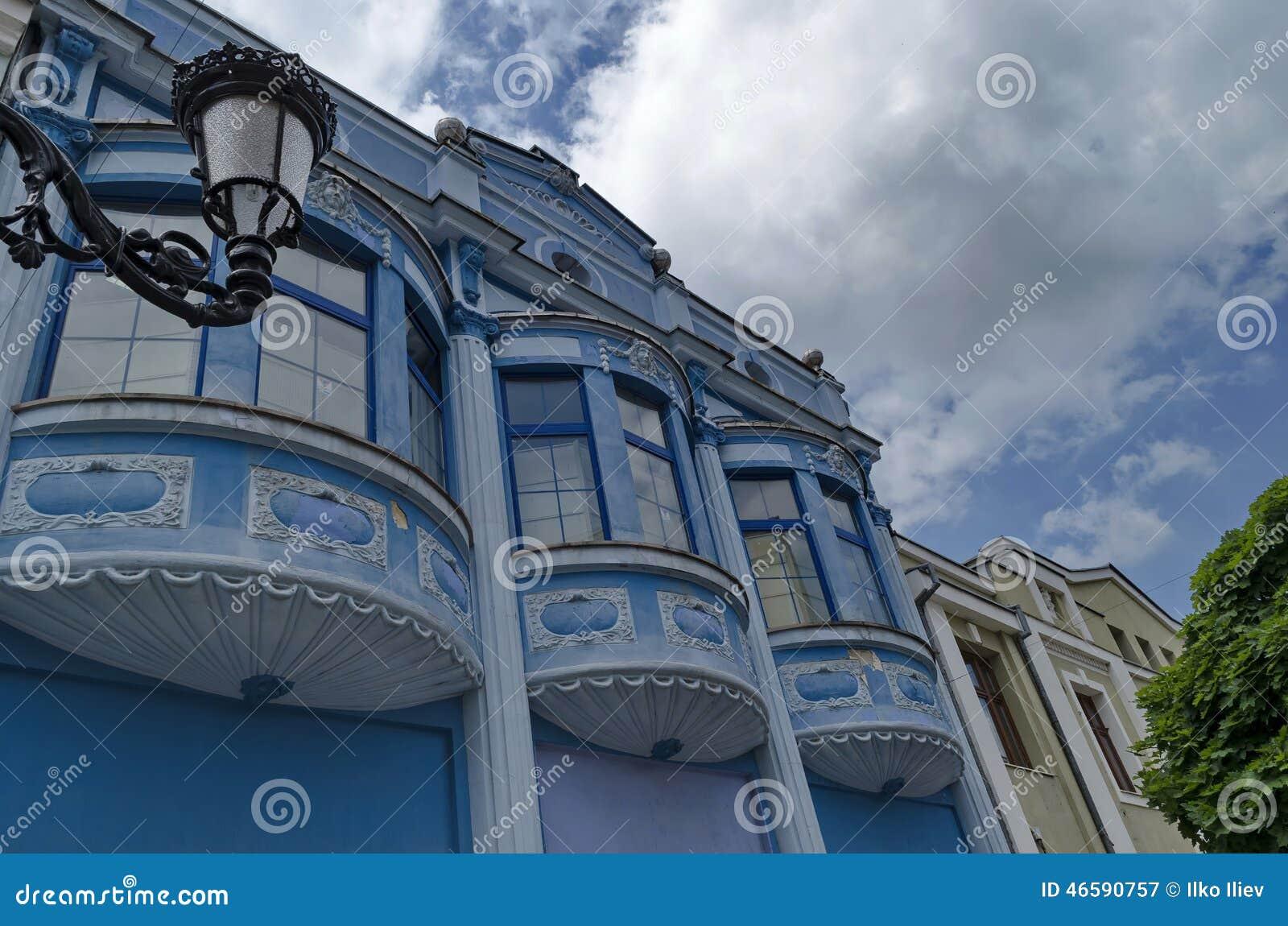 Wonderful Altes Haus Mit Bogenfenster  Und Gipsverzierung