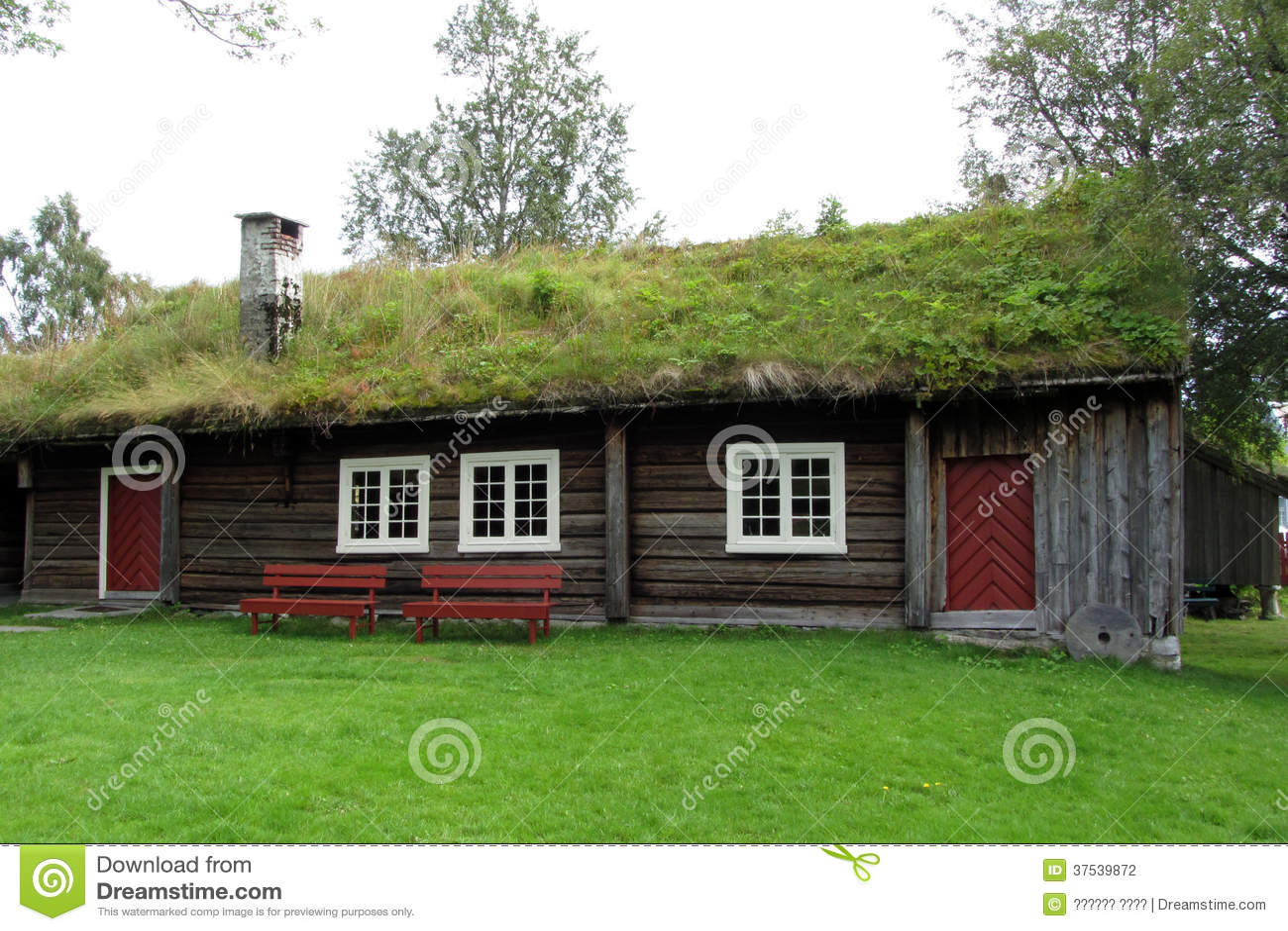 Altes haus in norwegen stockfotografie bild 37539872 for Norwegen haus