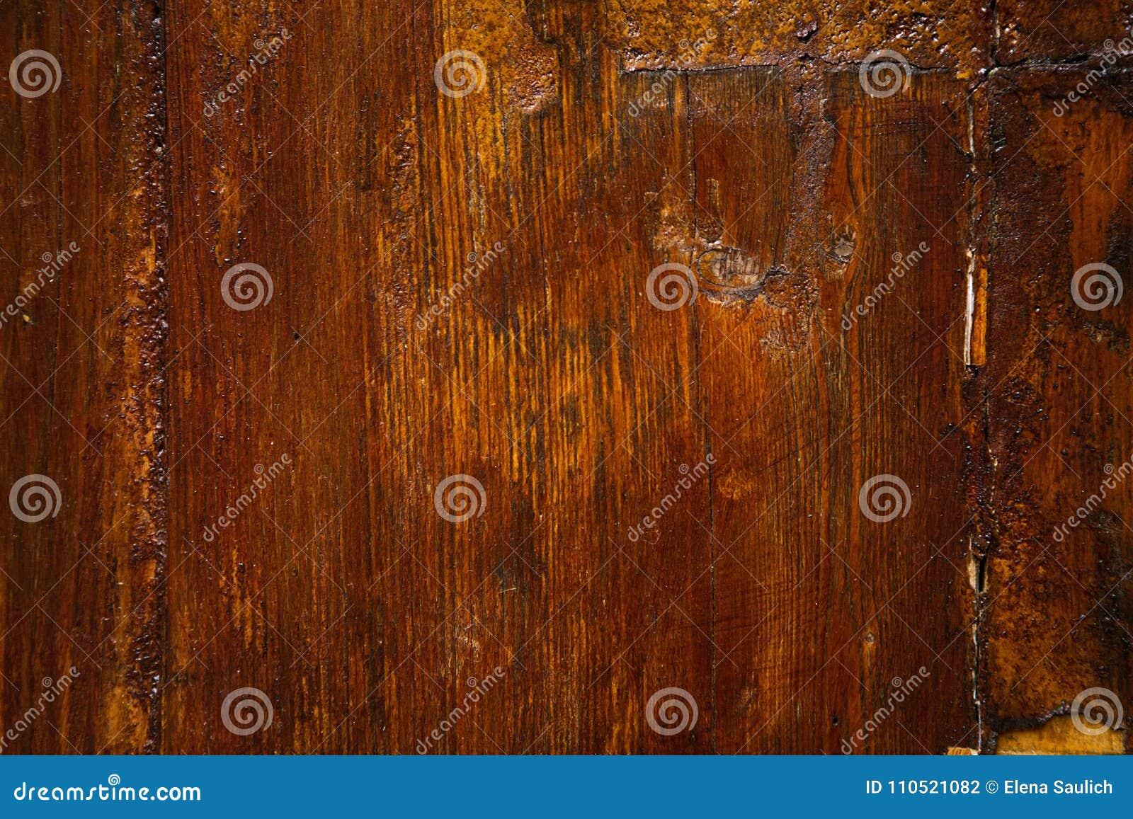 Altes Holz Gemalt Stockfoto Bild Von Innen Korn Nahaufnahme