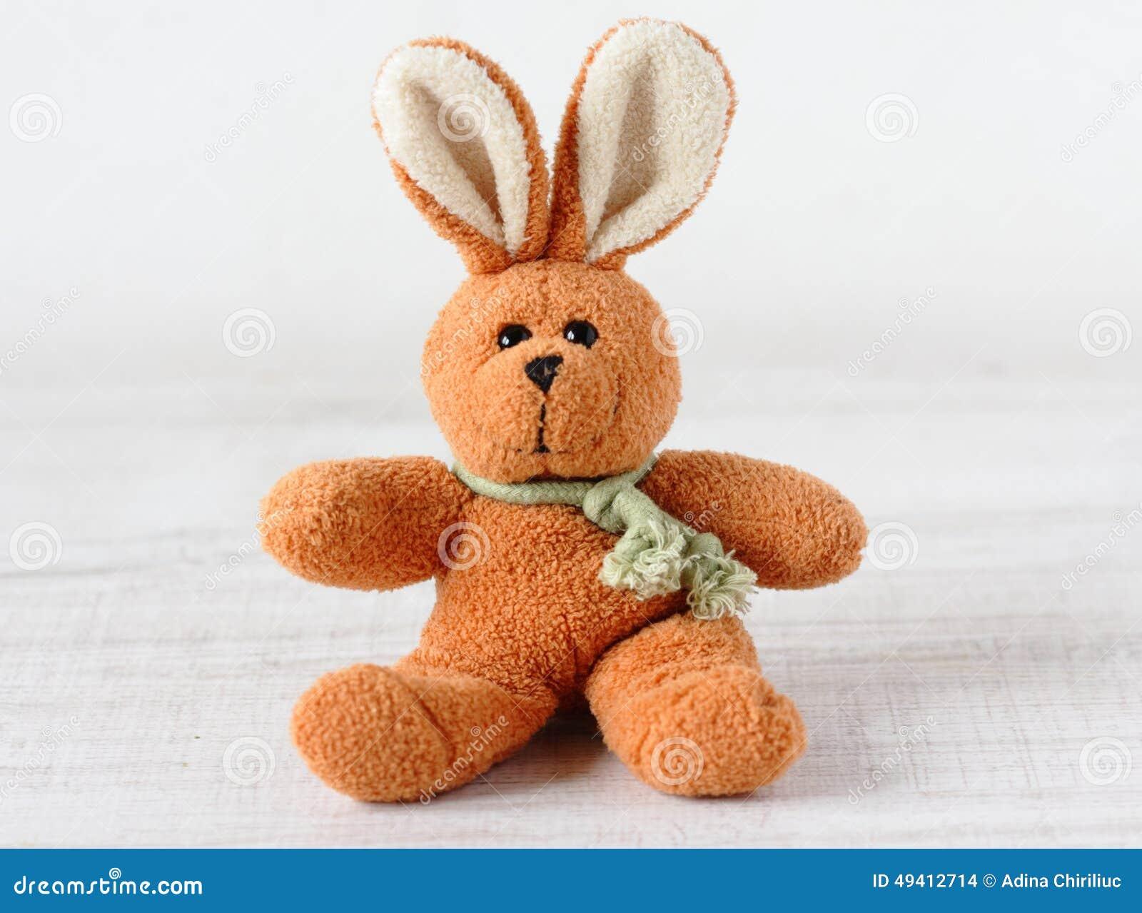 Download Altes Kaninchenspielzeug stockfoto. Bild von cuddly, geschenk - 49412714