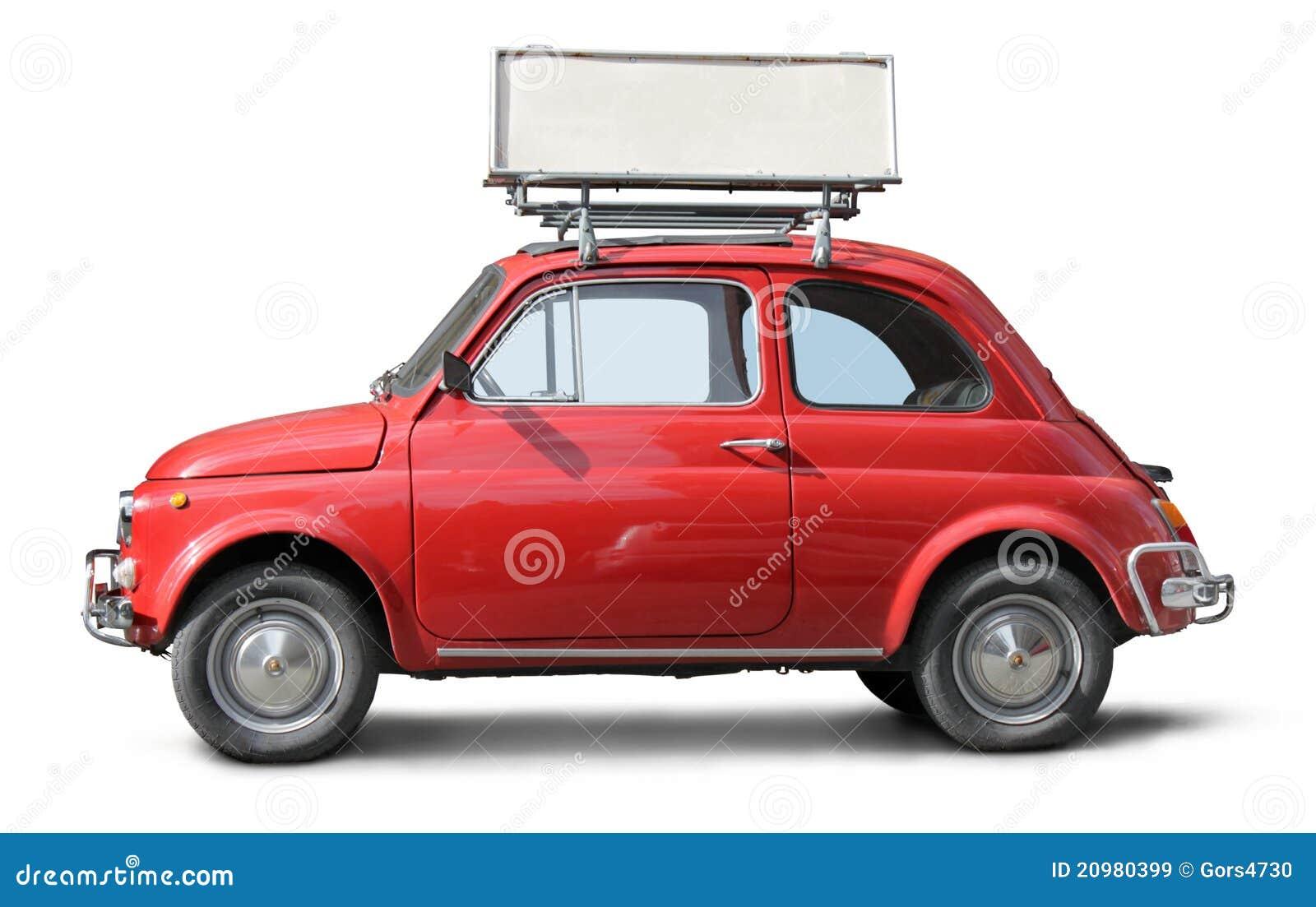 altes kleines auto stockbild bild von wirtschaftlichkeit 20980399. Black Bedroom Furniture Sets. Home Design Ideas