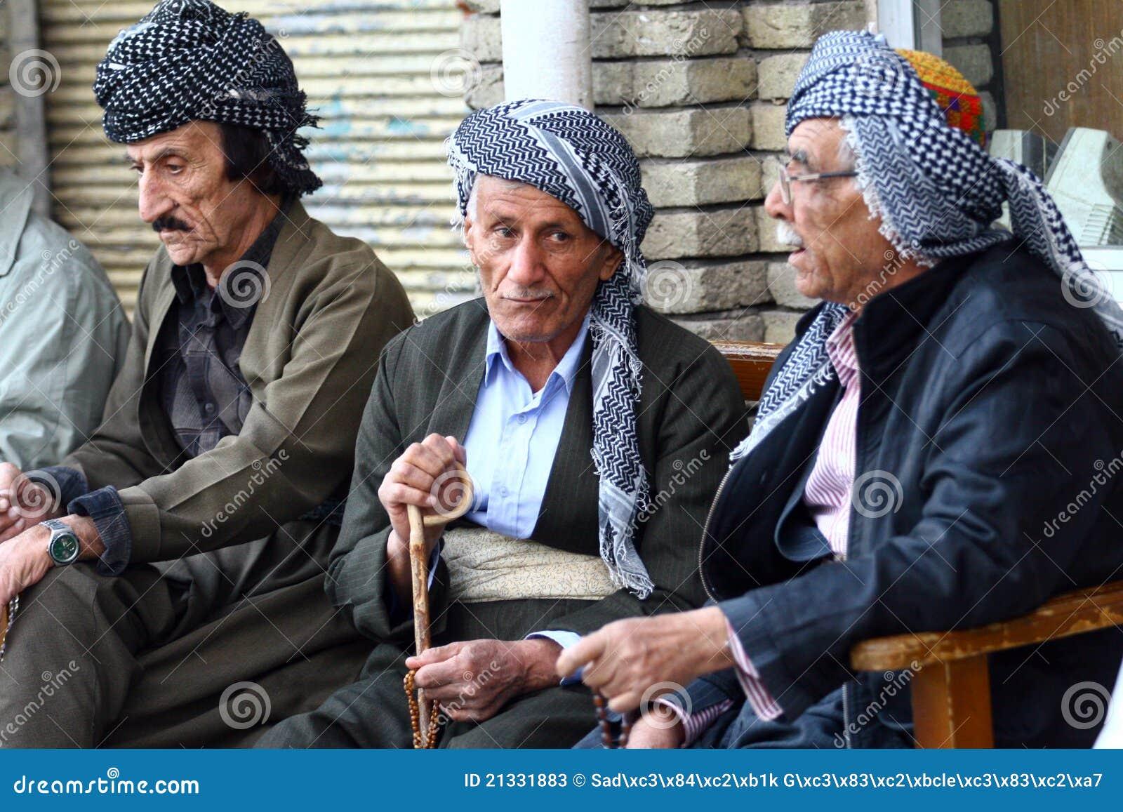 Altes kurdisches bemannt