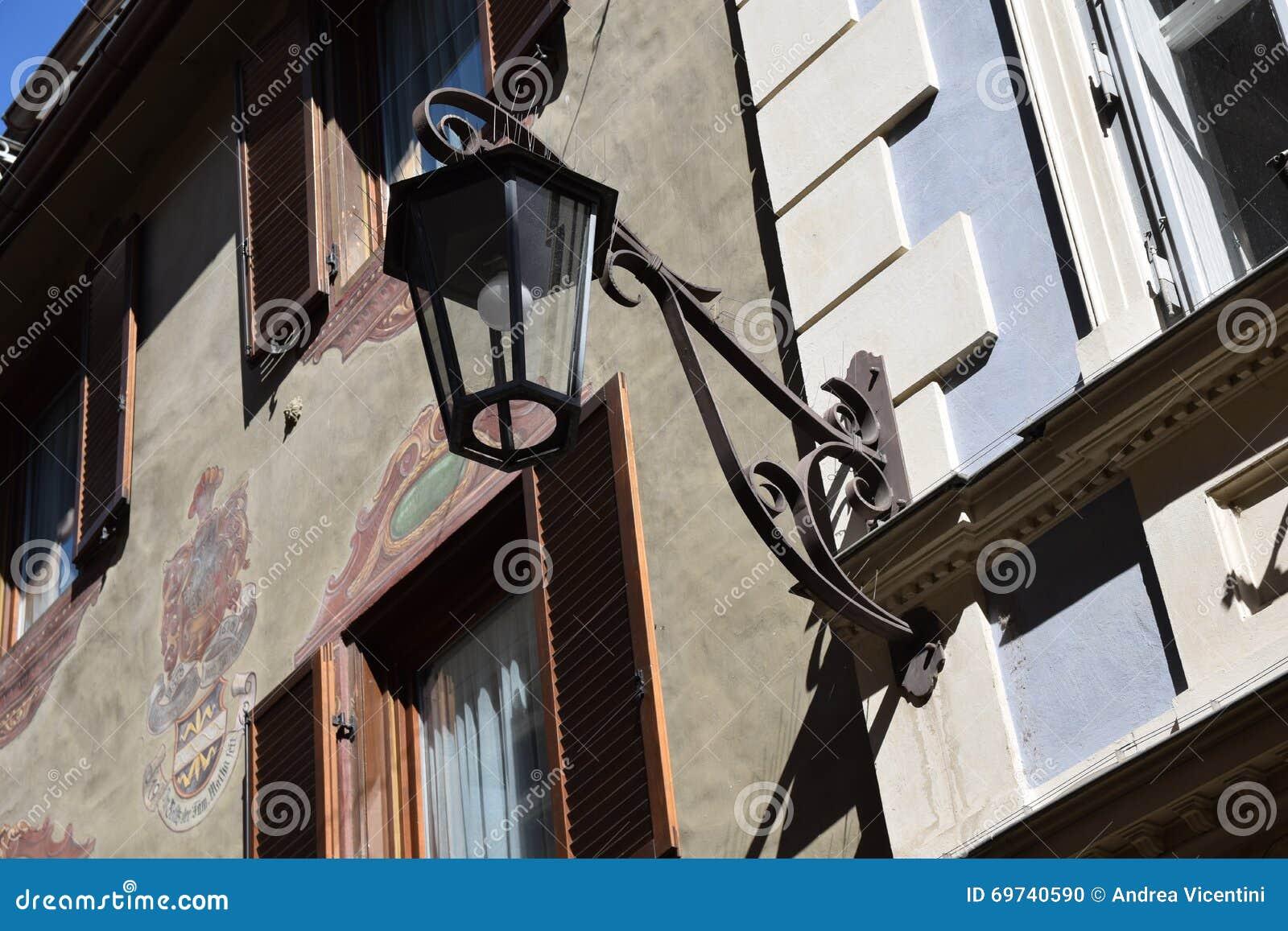 Altes Laternenstraße merano Süd-Tirol Italien Europa