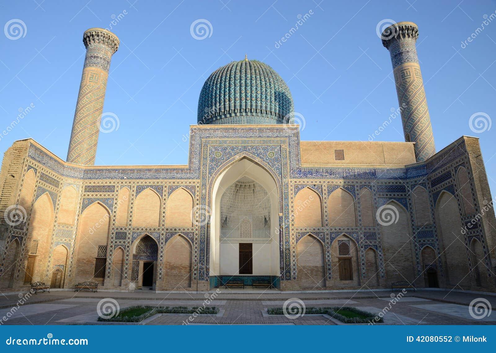 Altes Mausoleum von Tamerlane in Samarkand