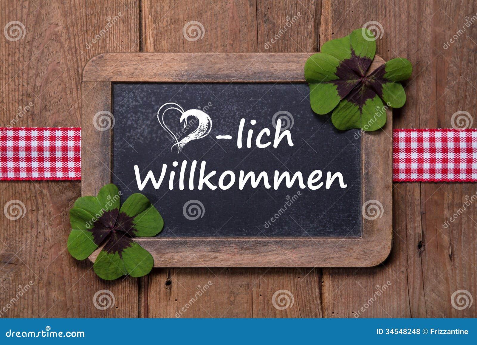 begrüßung auf deutsch