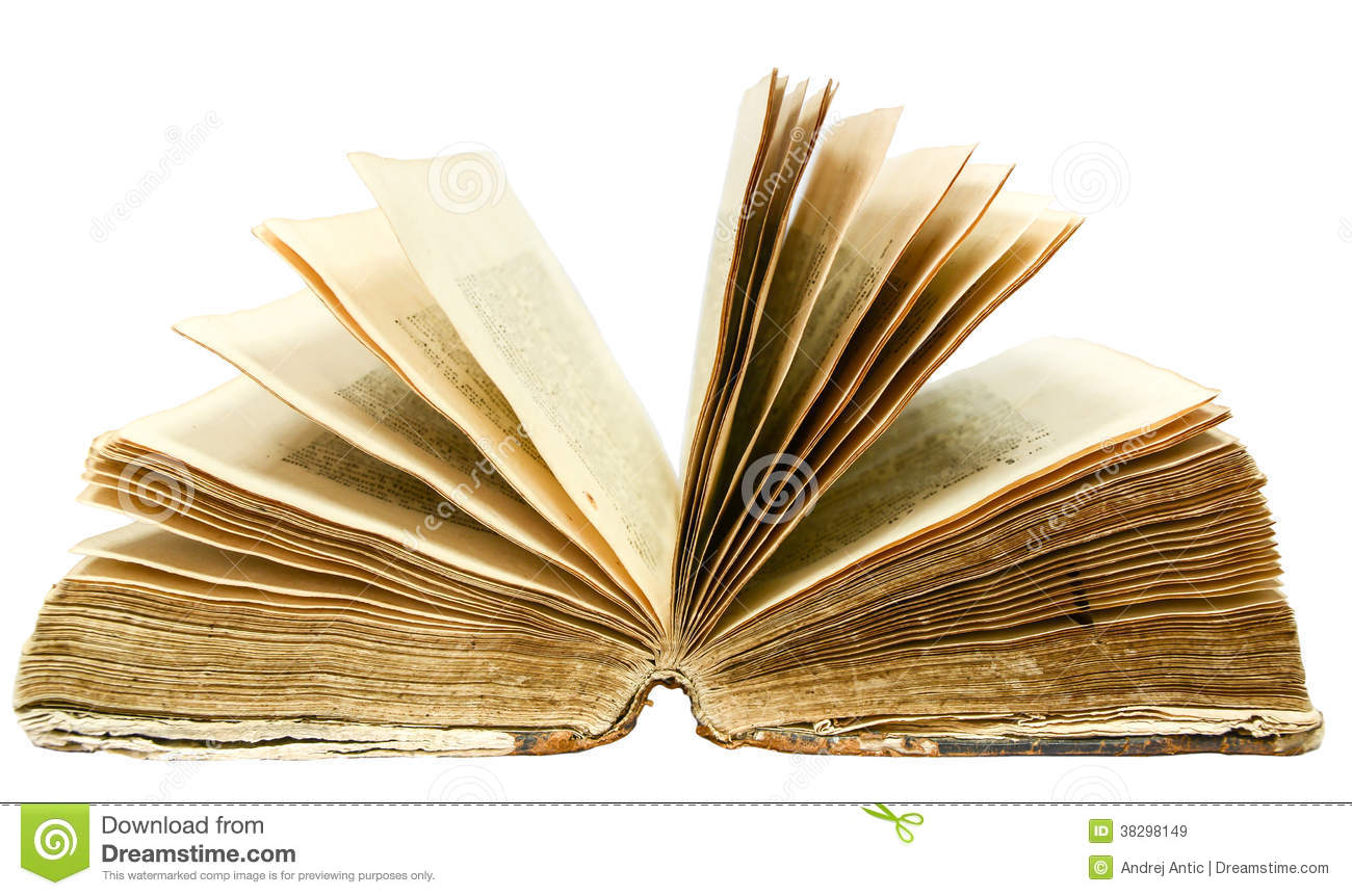 Altes offenes Buch