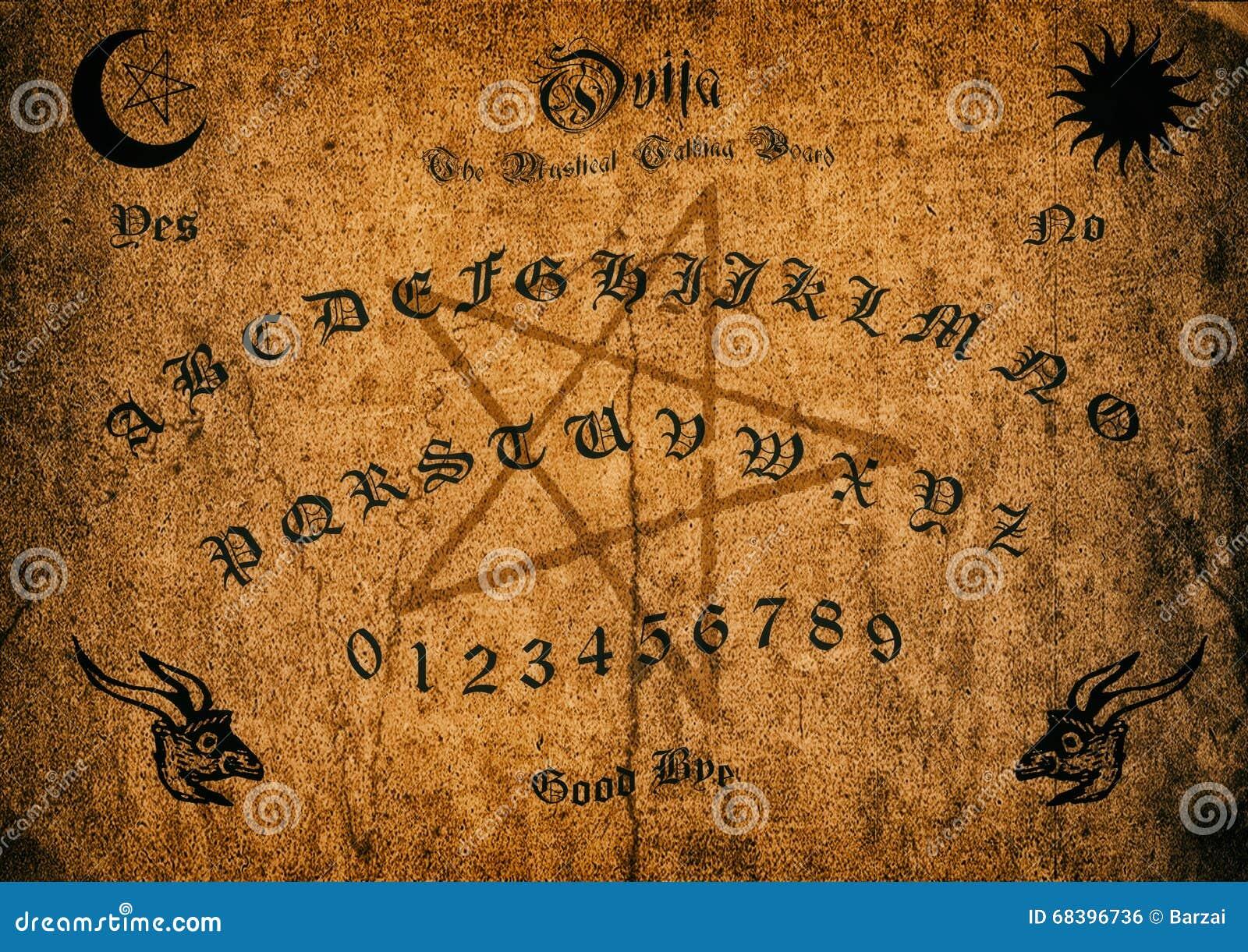 Altes Ouija-Brett