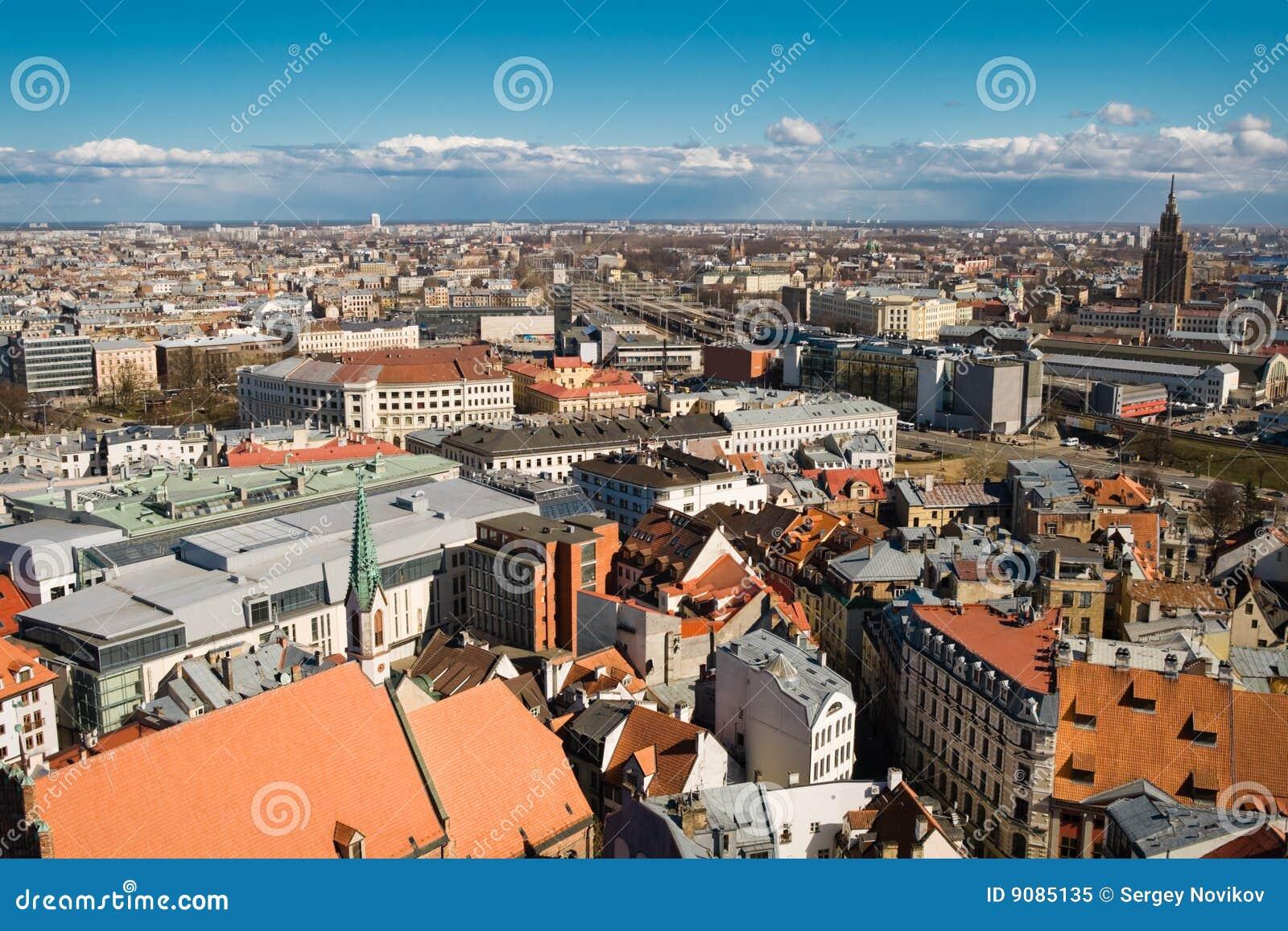 Altes Riga-Stadtbild