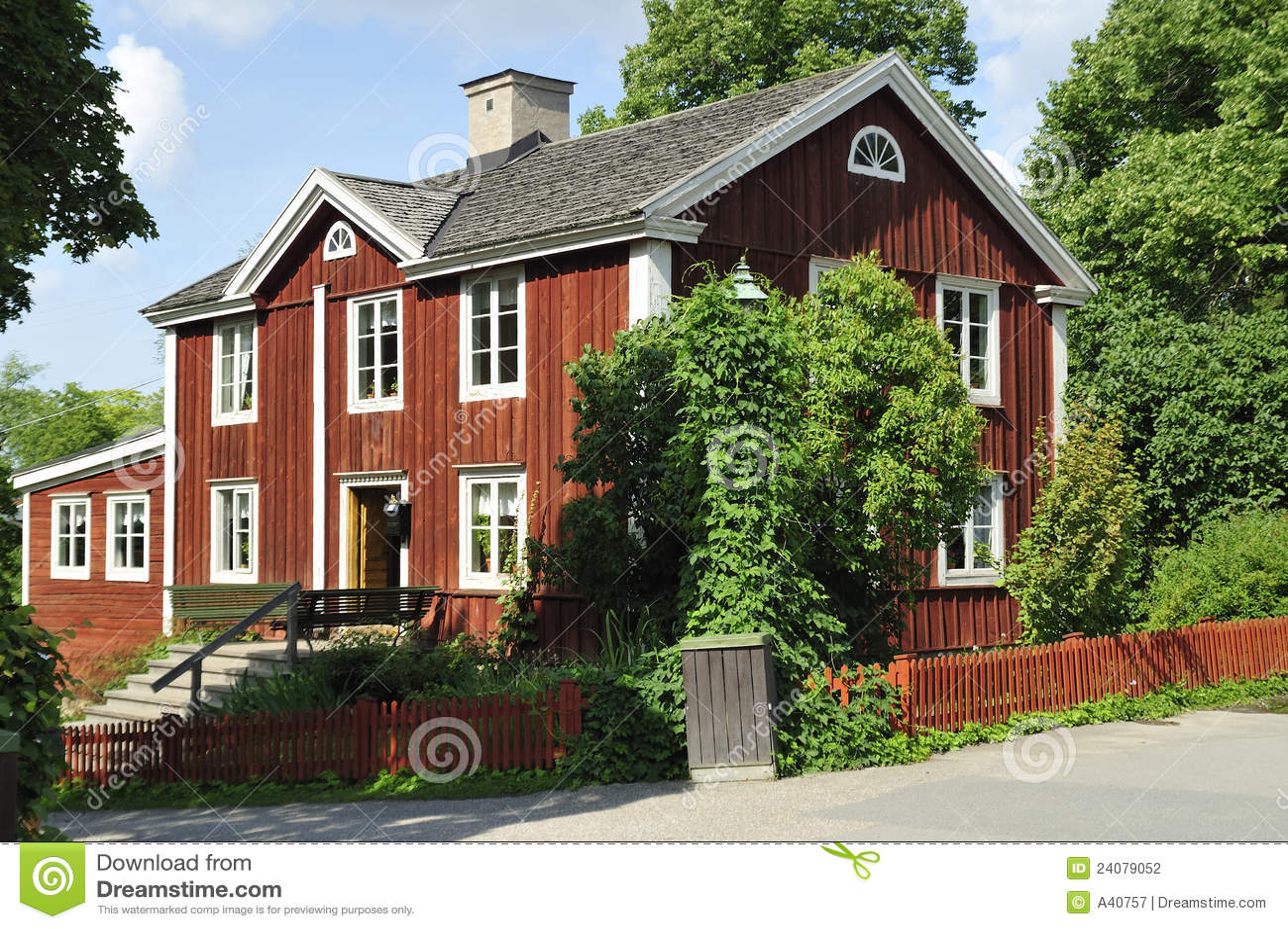 altes schwedisches haus stockfoto. bild von himmel, kultur - 24079052