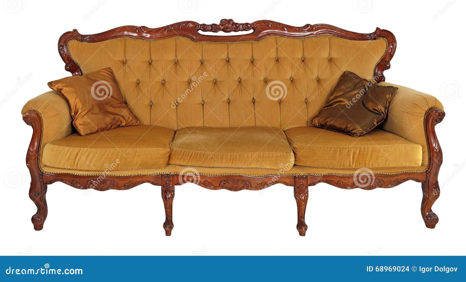 altes sofa stockfoto bild von einrichtungen nachricht 68969024. Black Bedroom Furniture Sets. Home Design Ideas