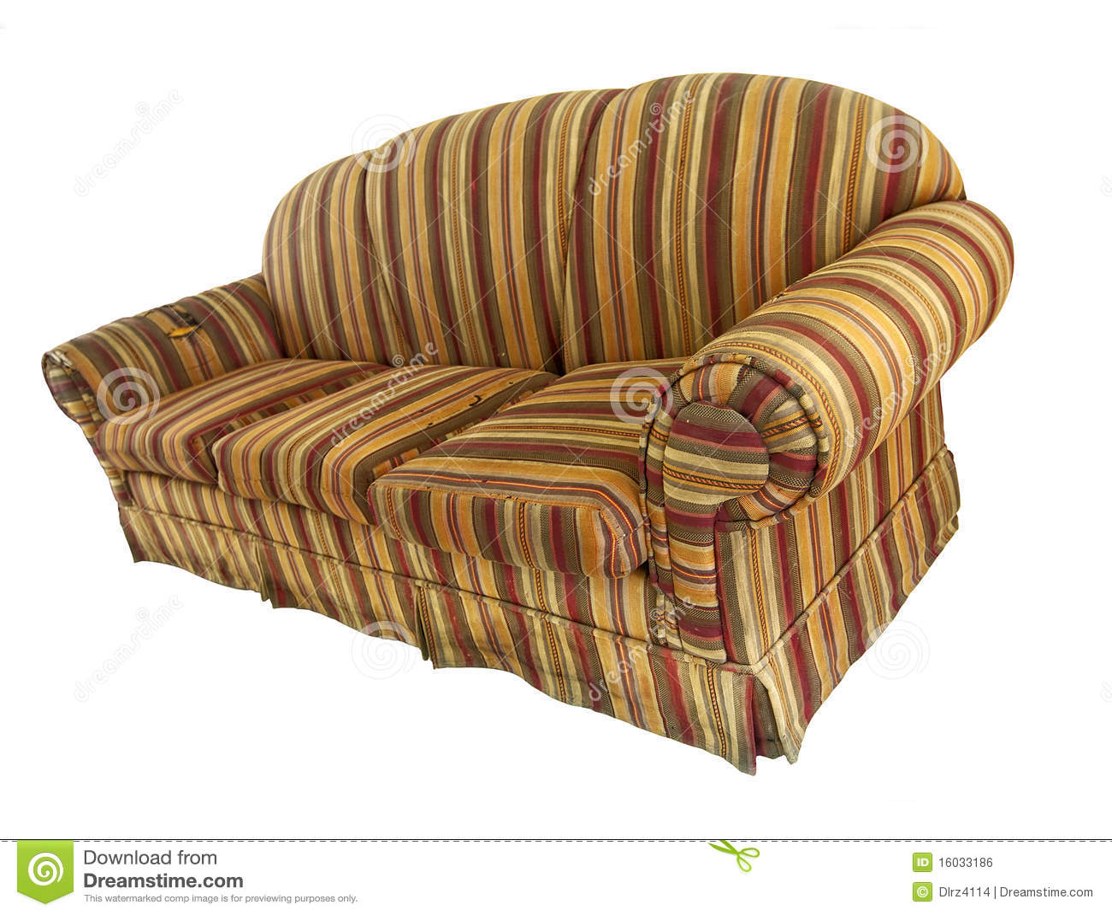 altes sofa weitwinkel lizenzfreies stockbild bild 16033186. Black Bedroom Furniture Sets. Home Design Ideas