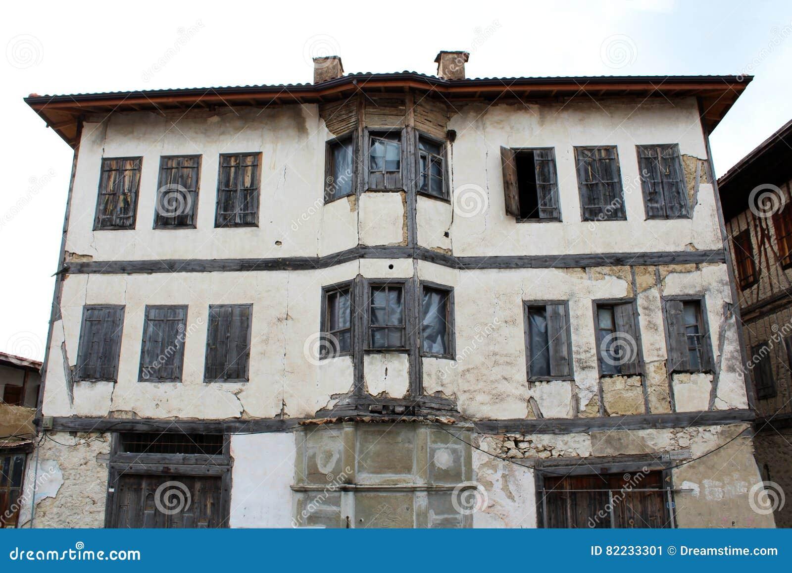 Altes Steinhaus In Safranbolu, Die Türkei Stockbild - Bild von ...
