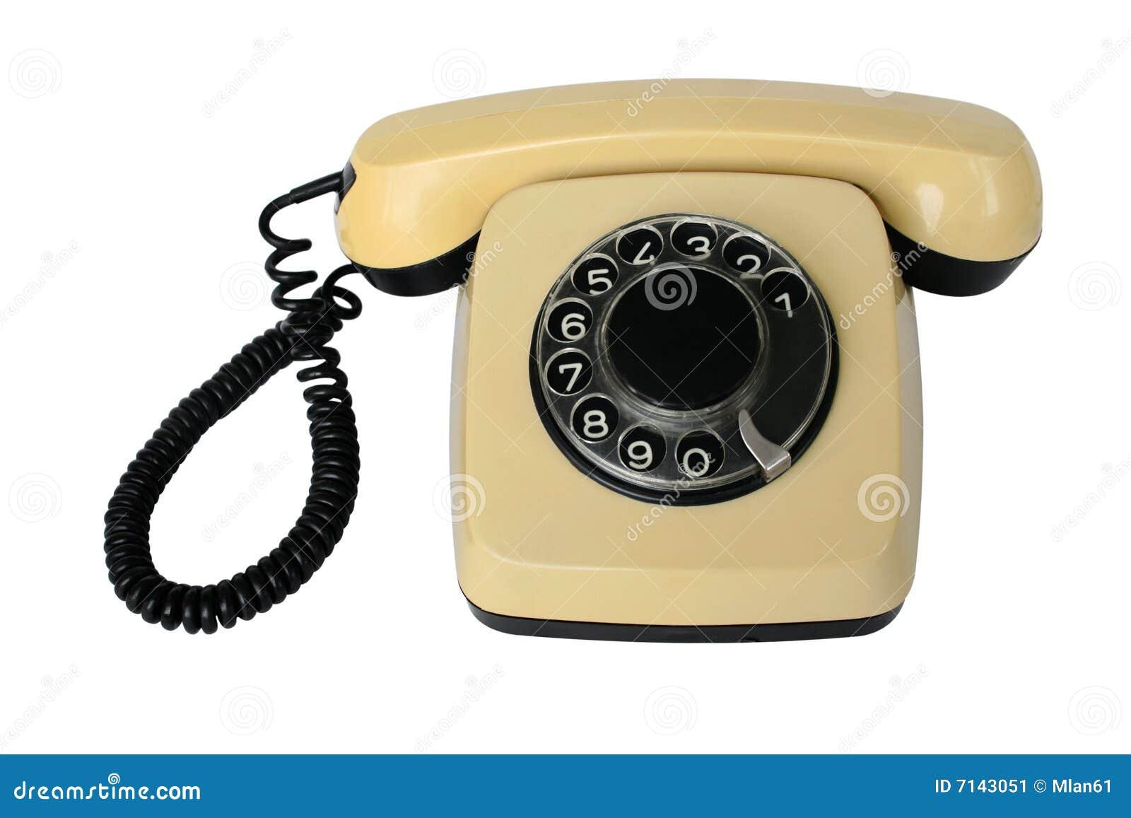 altes telefon stockbild bild 7143051. Black Bedroom Furniture Sets. Home Design Ideas