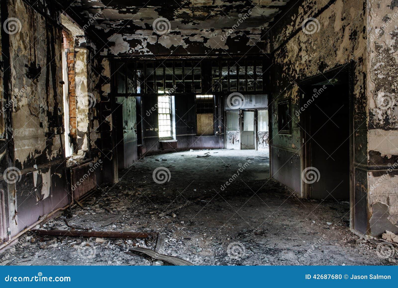 Altes verlassenes Gebäude