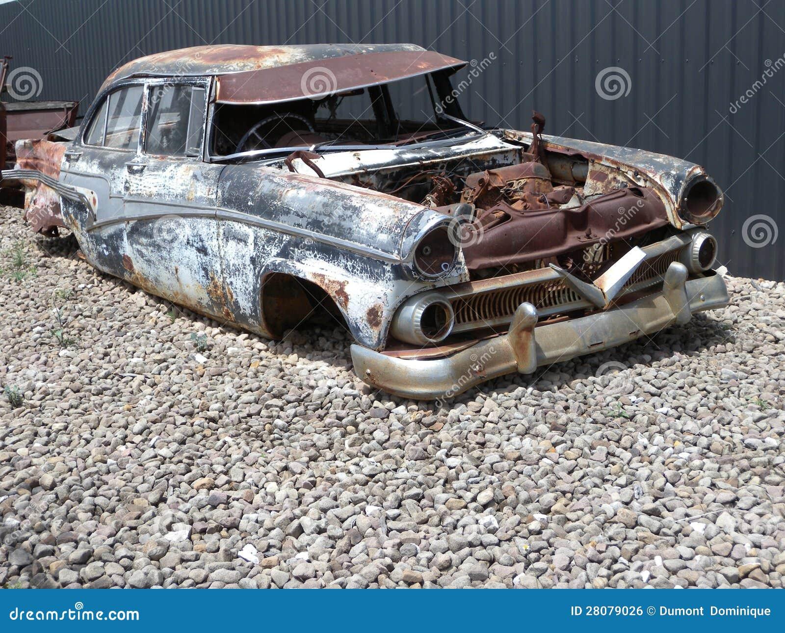 altes verrostetes auto stockfoto bild von verrostet 28079026. Black Bedroom Furniture Sets. Home Design Ideas
