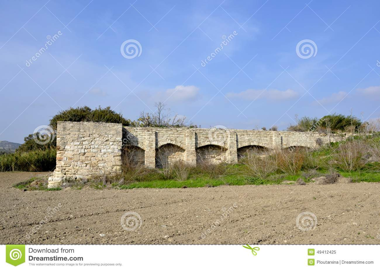 Download Altes watermill stockbild. Bild von landschaft, watermill - 49412425