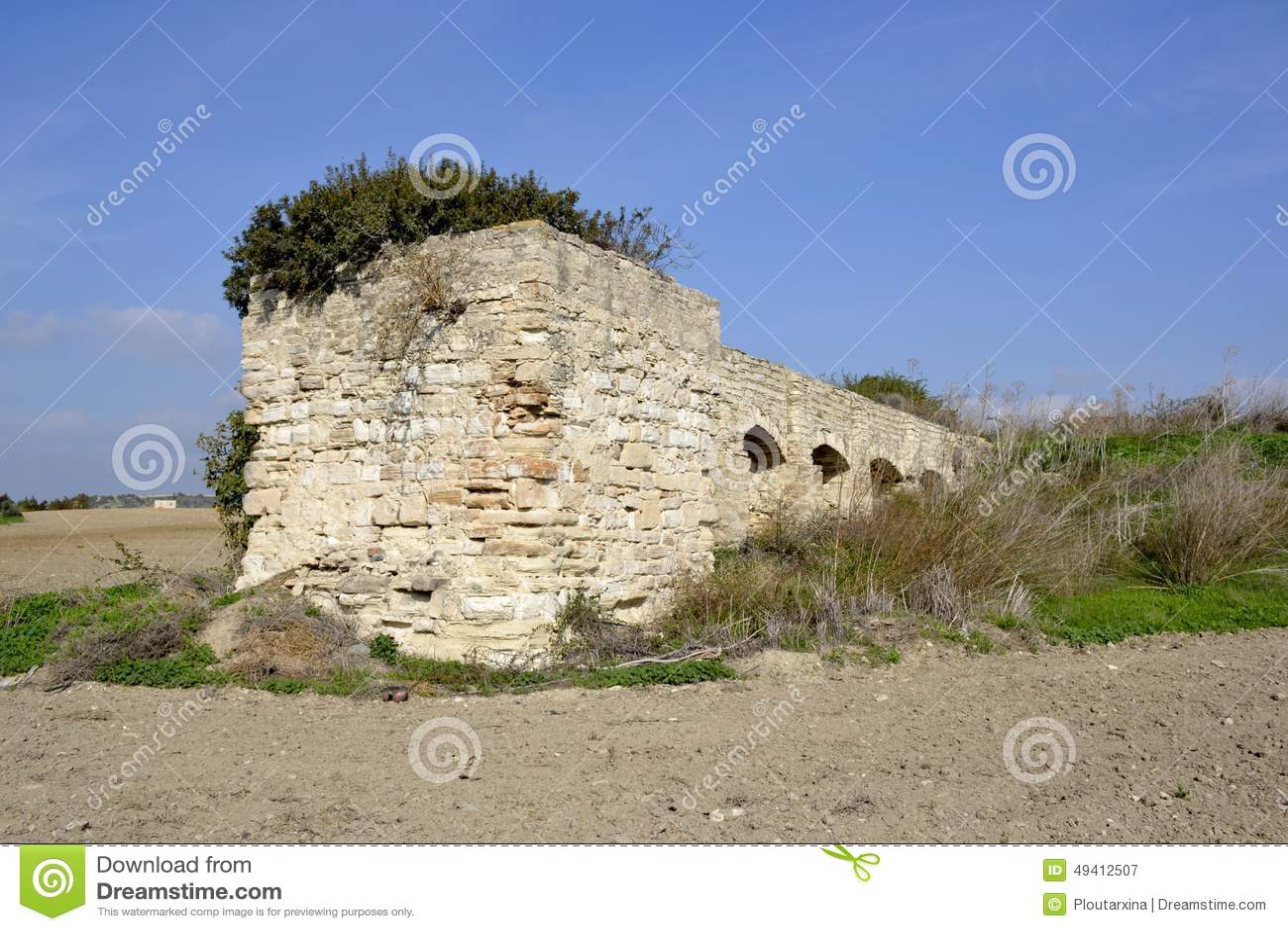 Download Altes watermill stockbild. Bild von stein, geschichte - 49412507