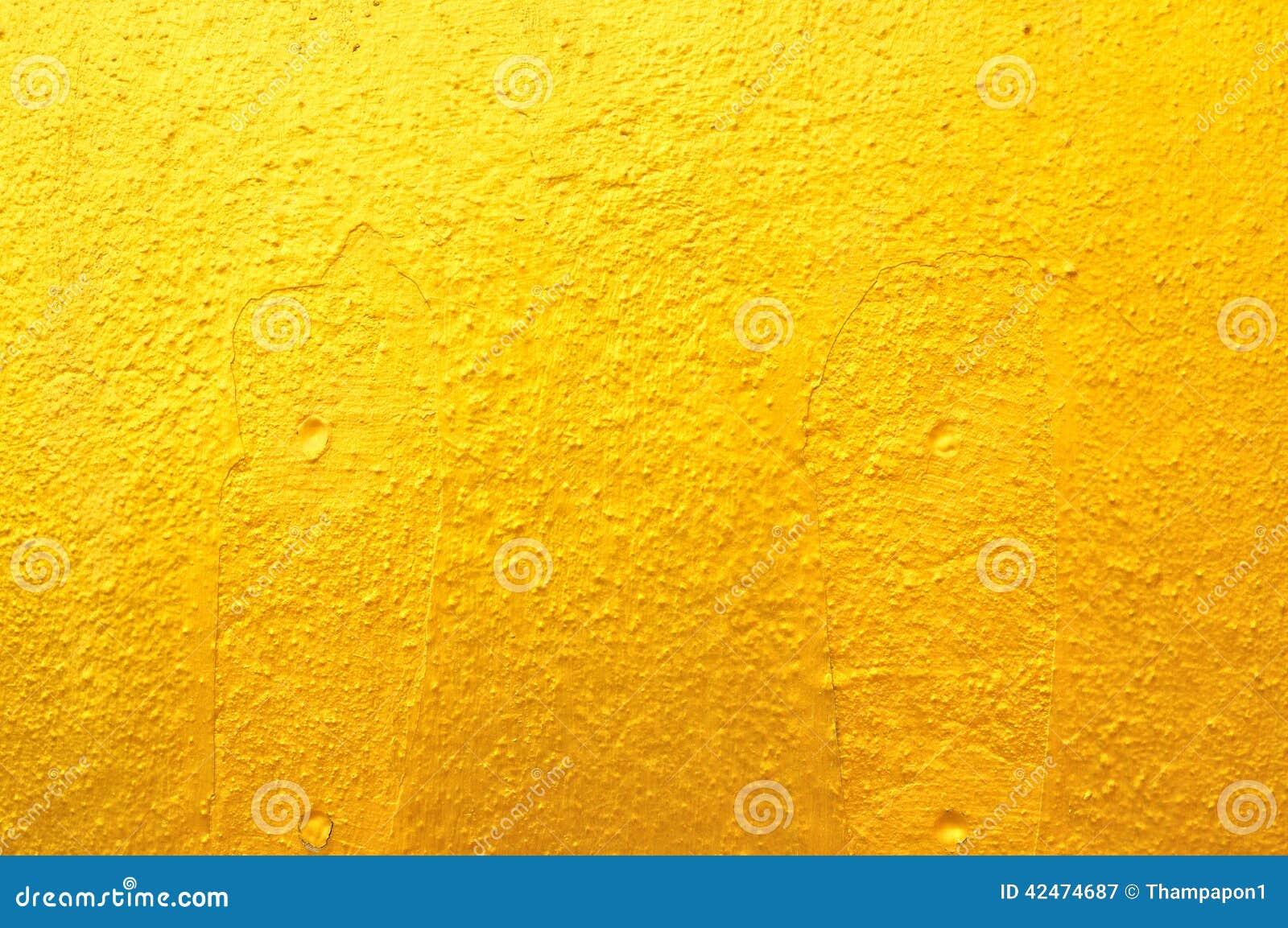 Altgold-Betonmauer