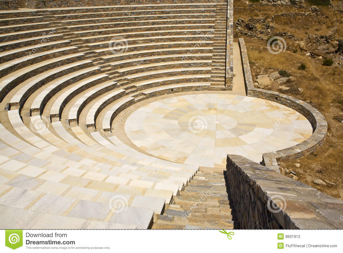 altgriechisches amphitheater griechenland stockfotografie bild 8601912. Black Bedroom Furniture Sets. Home Design Ideas