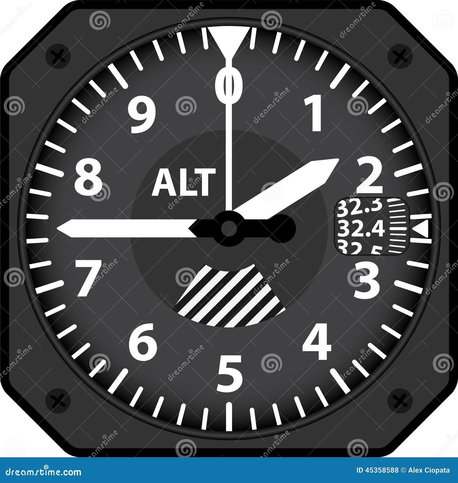 Altimètre d avions