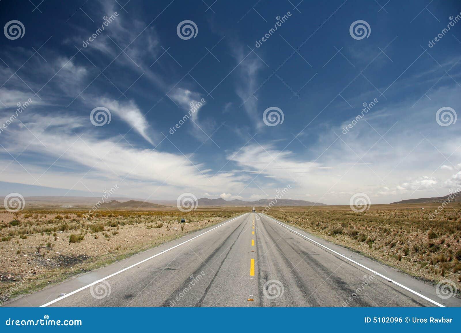 Altiplano road