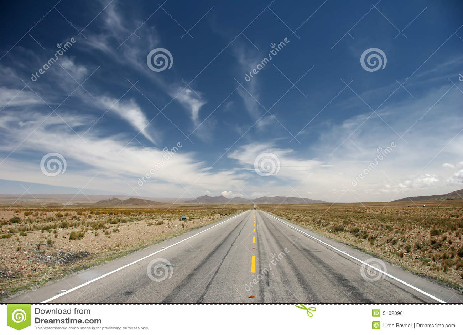 Altiplano Straße