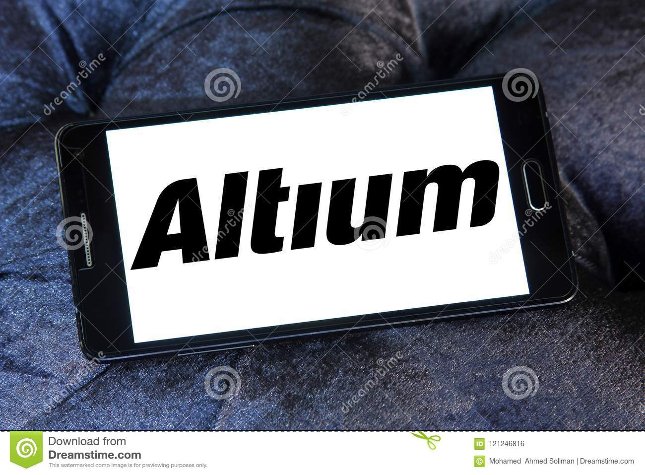 Altium Software Company Logo Editorial Photo Image Of Electronic Circuit Design For Mobile