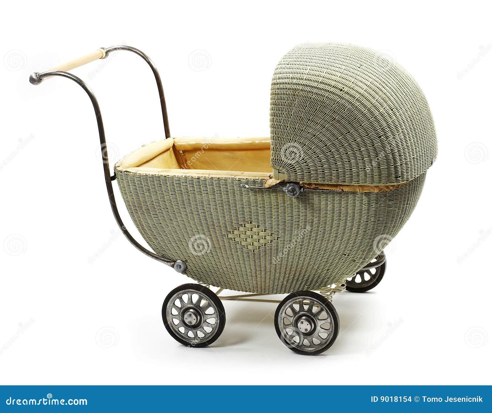 altmodische kinderwagen