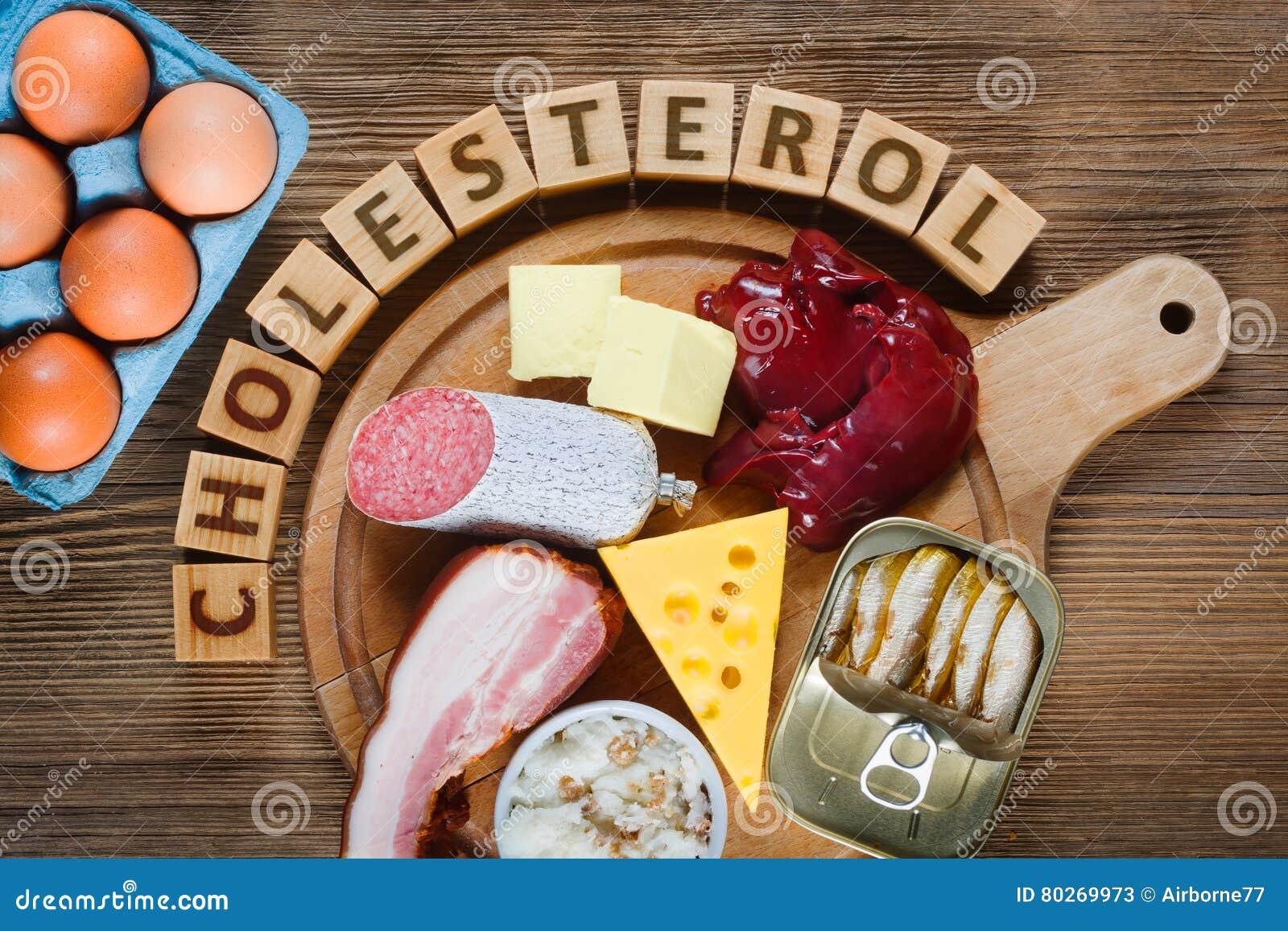 Alto - alimentos do colesterol