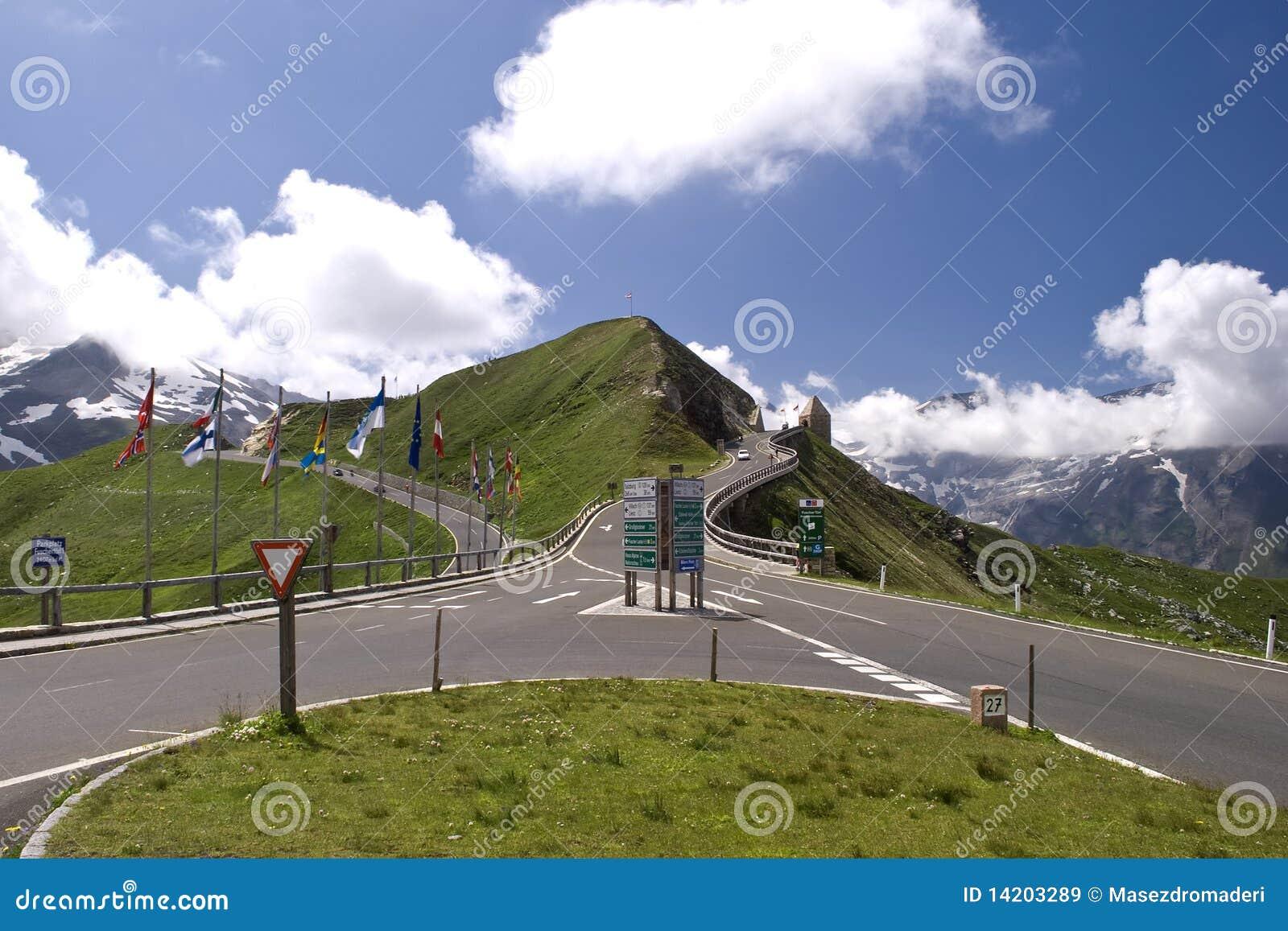 Alto camino alpestre de Grossglockner