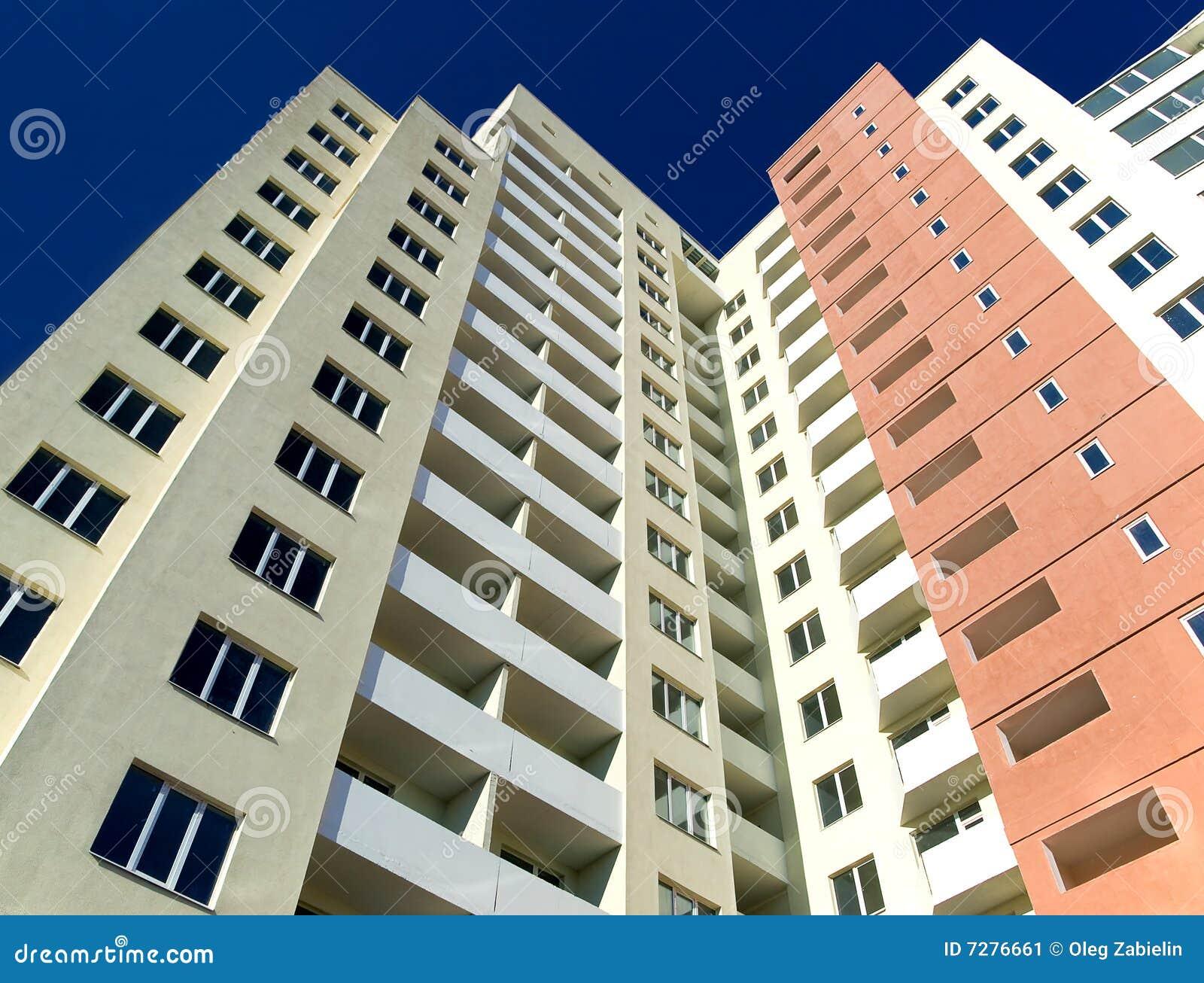 Alto edificio residencial