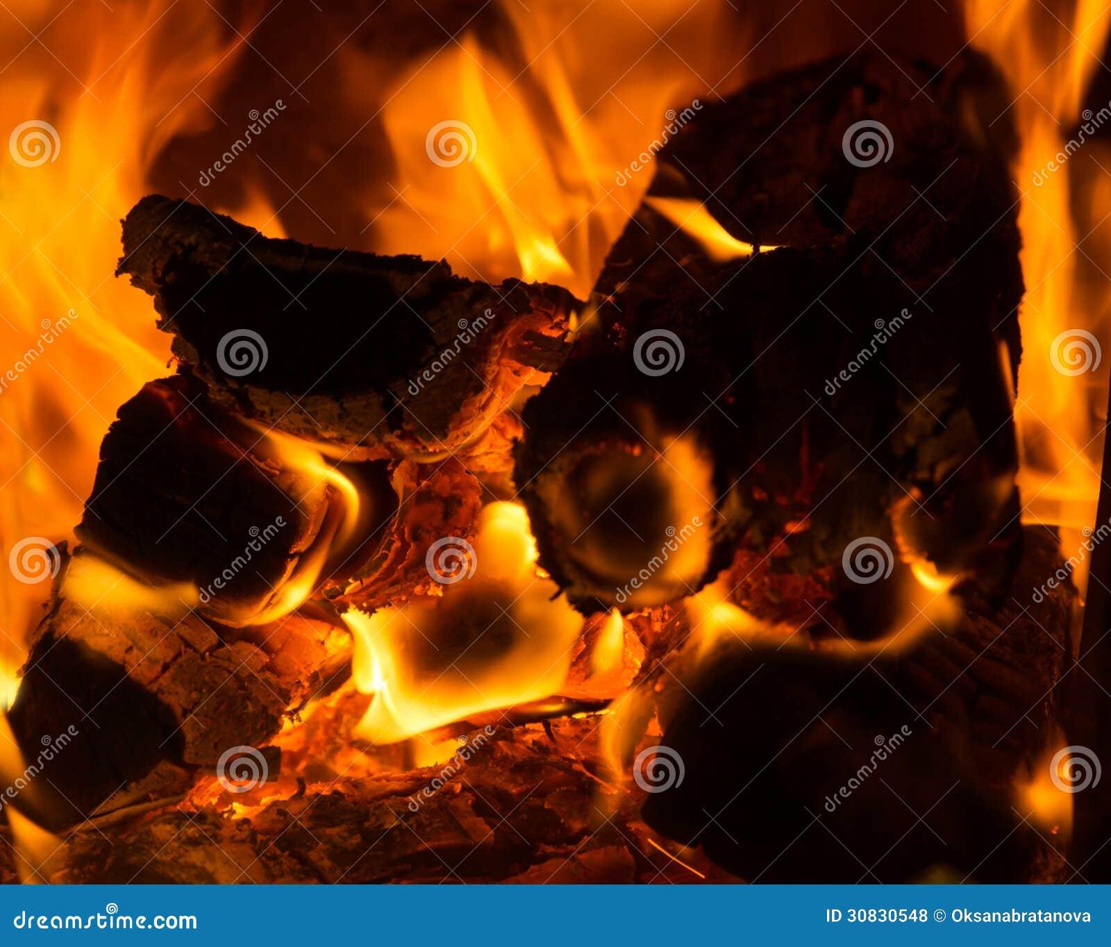 Alto vicino del fuoco