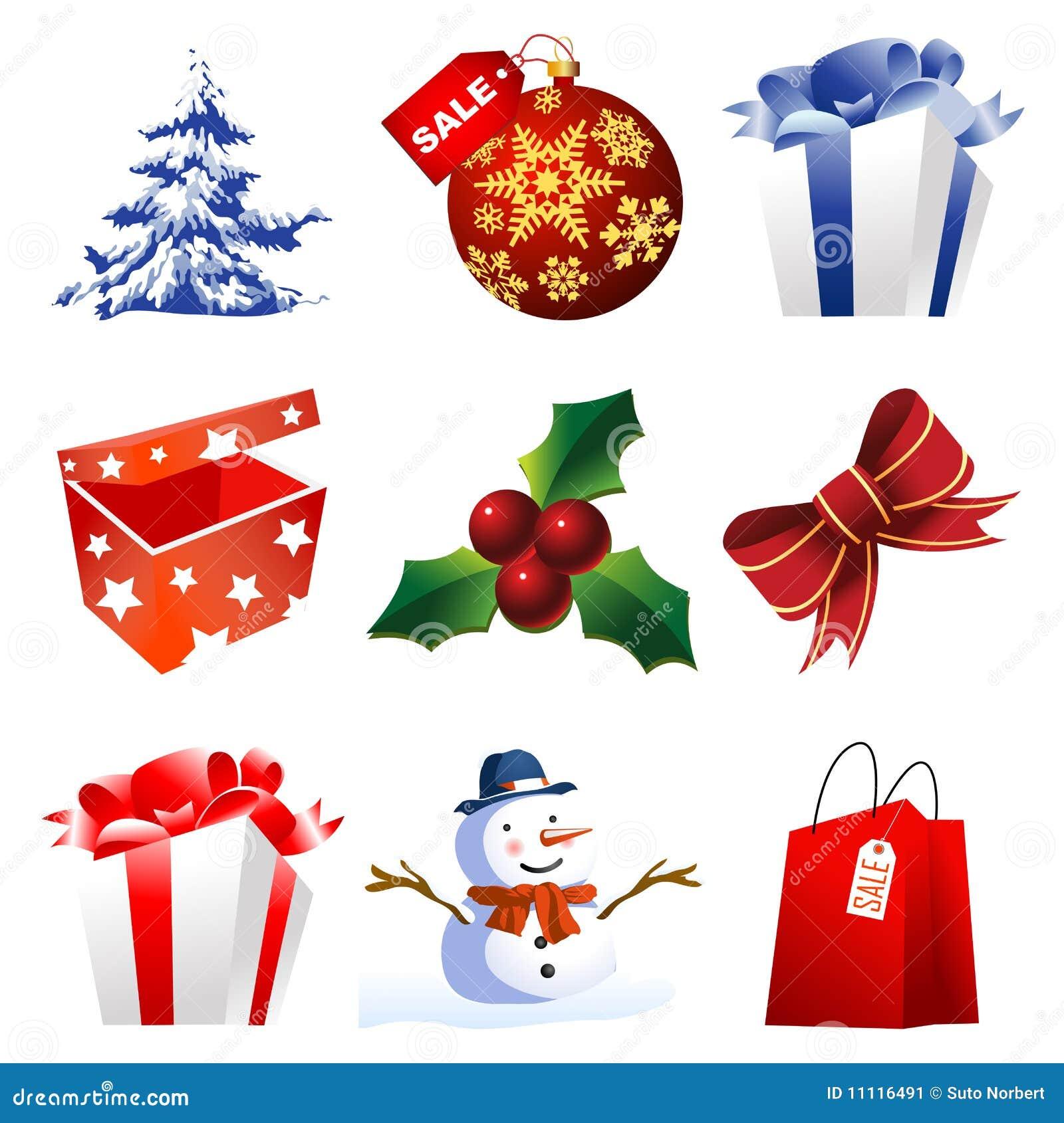 Altos iconos de la navidad del detalle imagen de archivo - Detalles de navidad ...