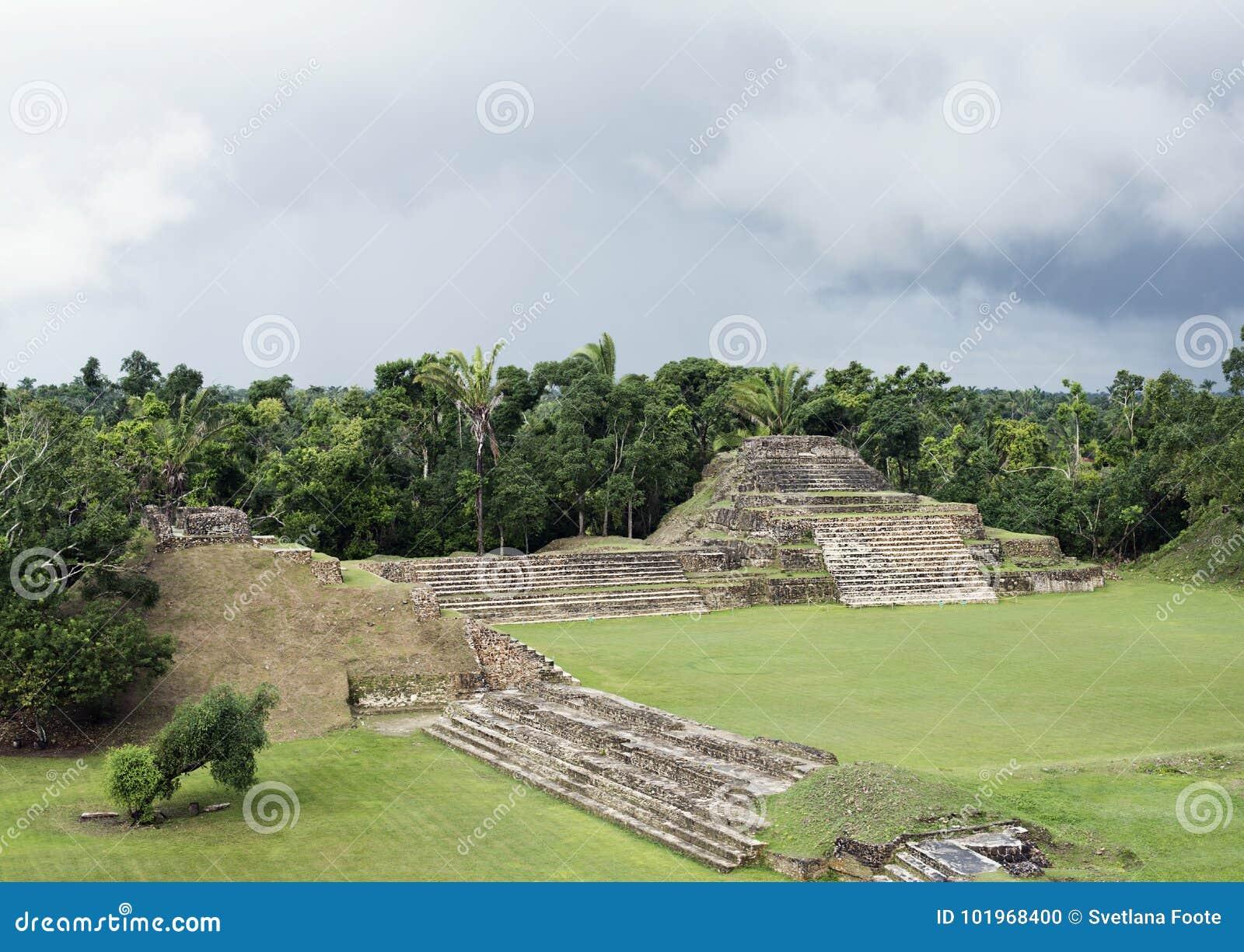 Altun Ha Mayan Ruins à Belize